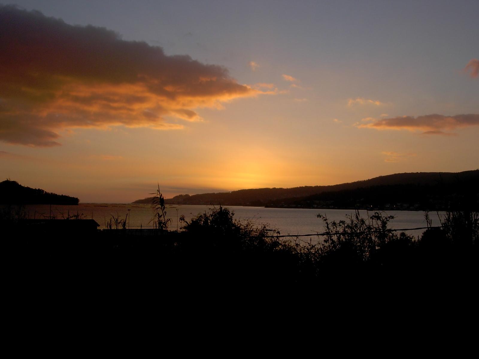 Foto playa Campelo. Vista da ría de Pontevedra desde Campelo