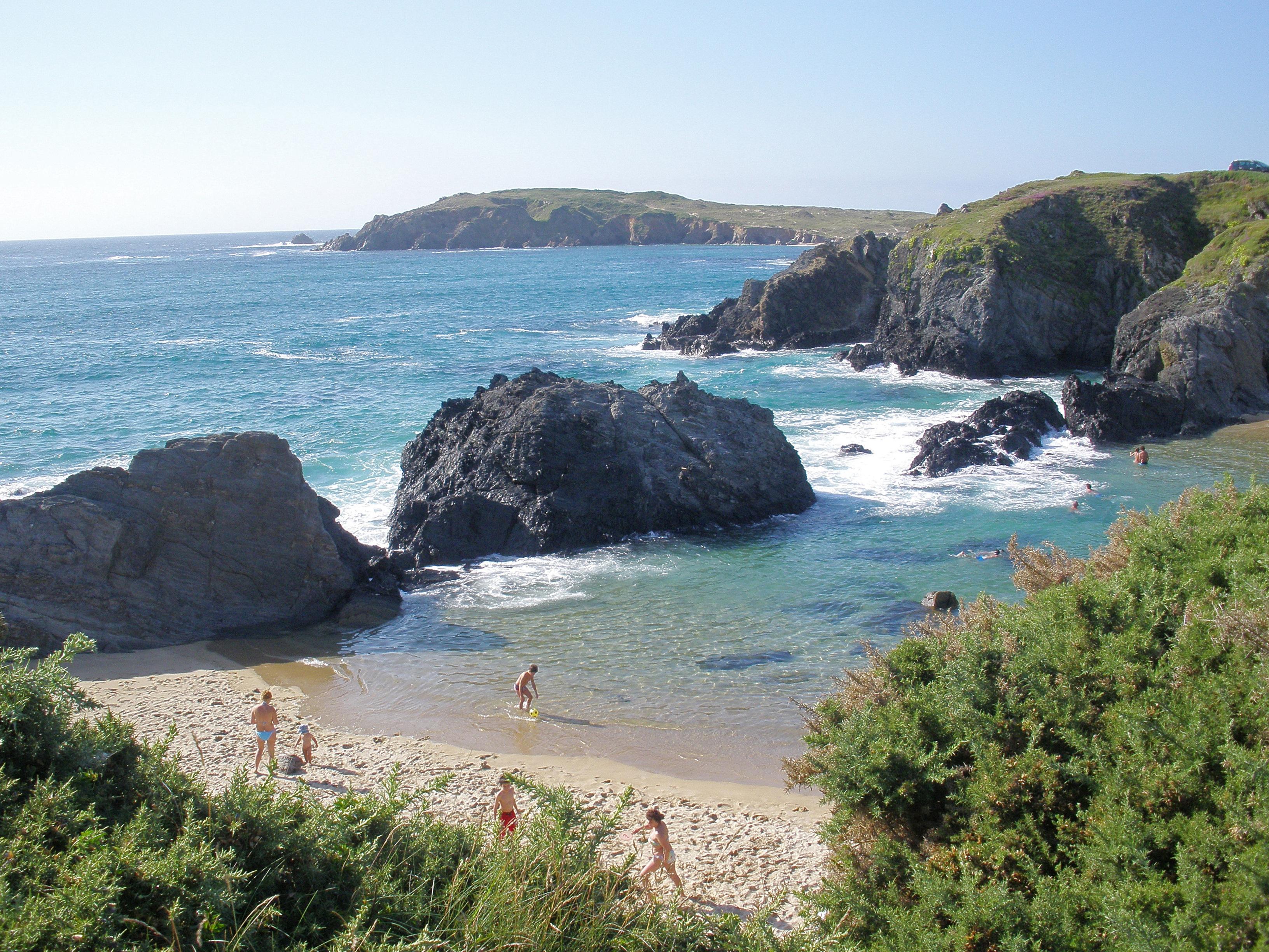 Foto playa Mourillar / Os Botes / Mourella. Una mirada a la cala