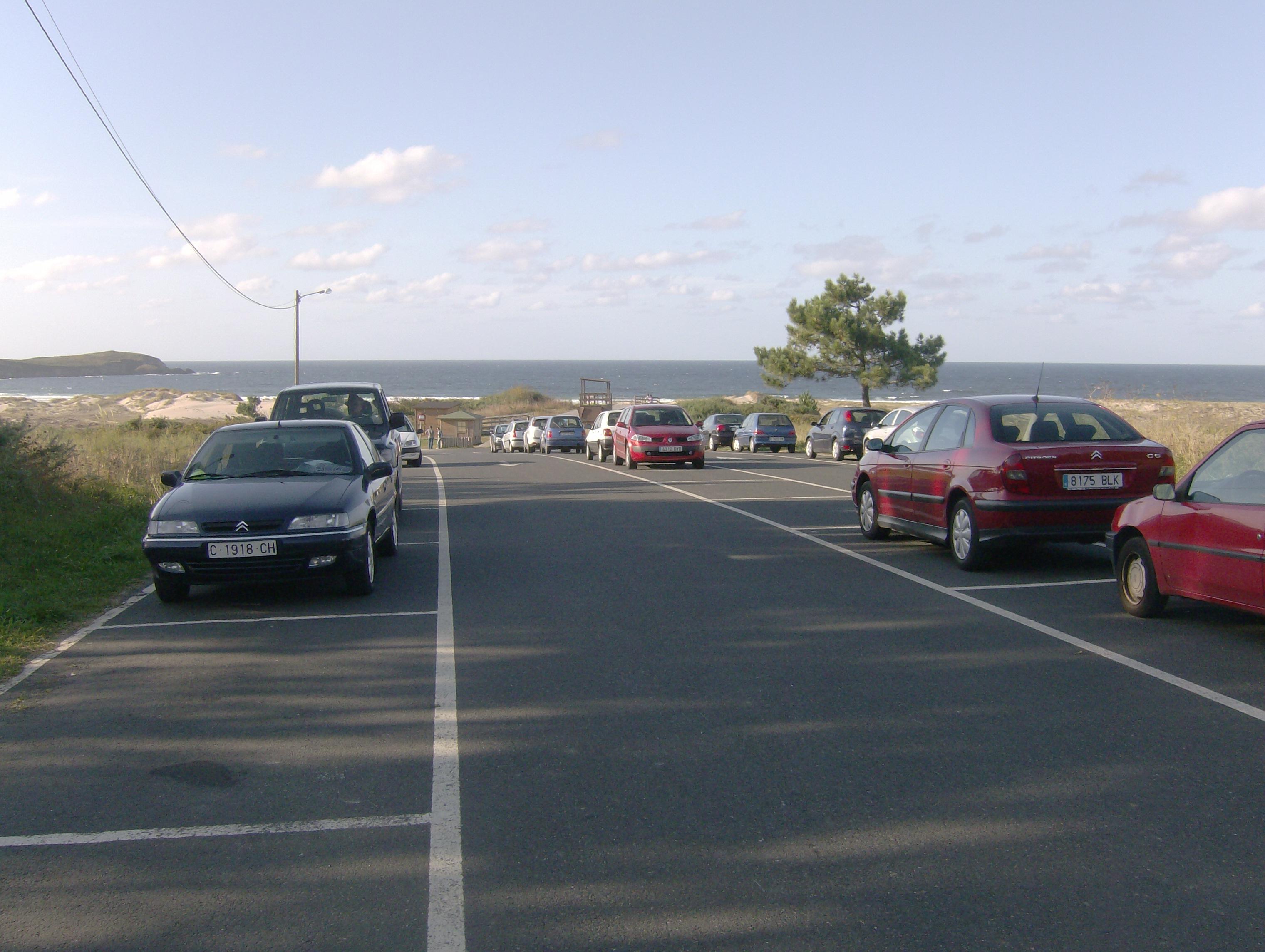 Foto playa A Frouxeira. Lago Valdoviño
