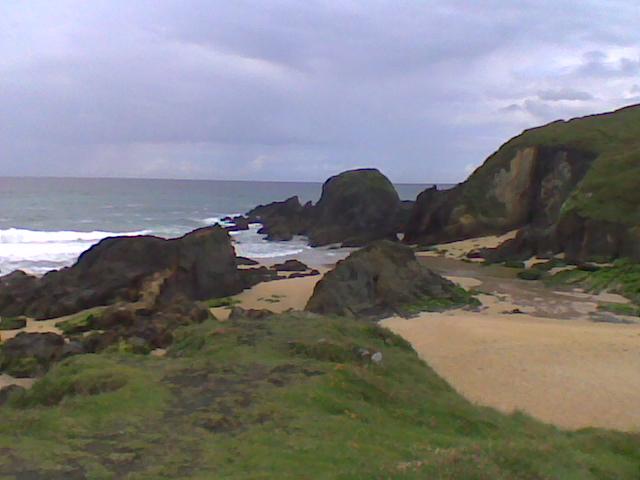 Foto playa A Frouxeira. playa  valdoviño