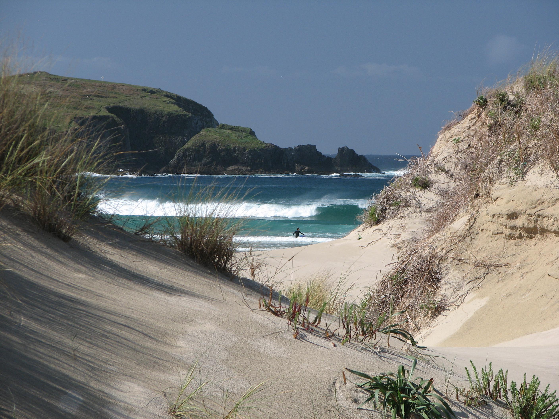 Foto playa A Frouxeira. Frouxeira beach Valdoviño