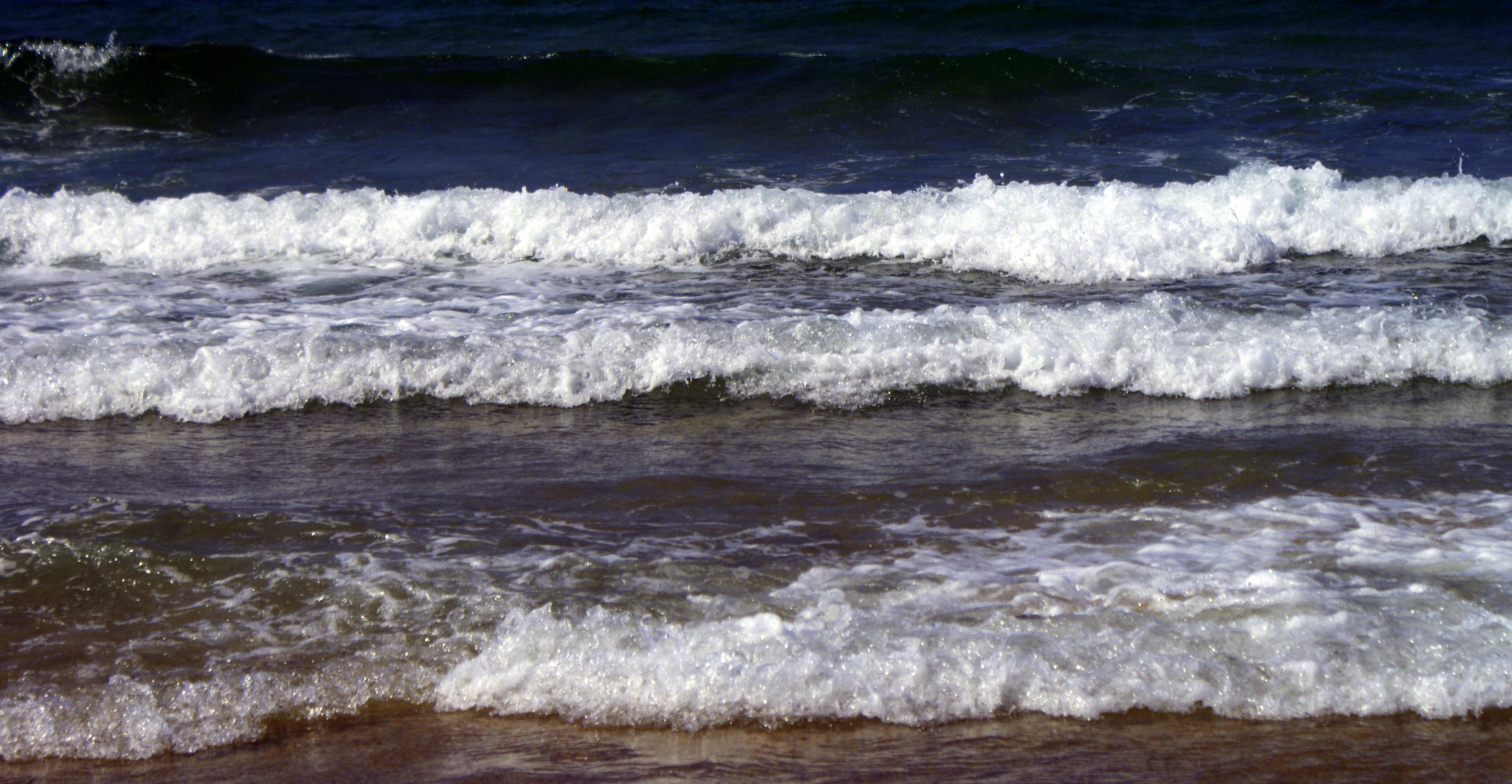 Foto playa A Frouxeira. Tres en una