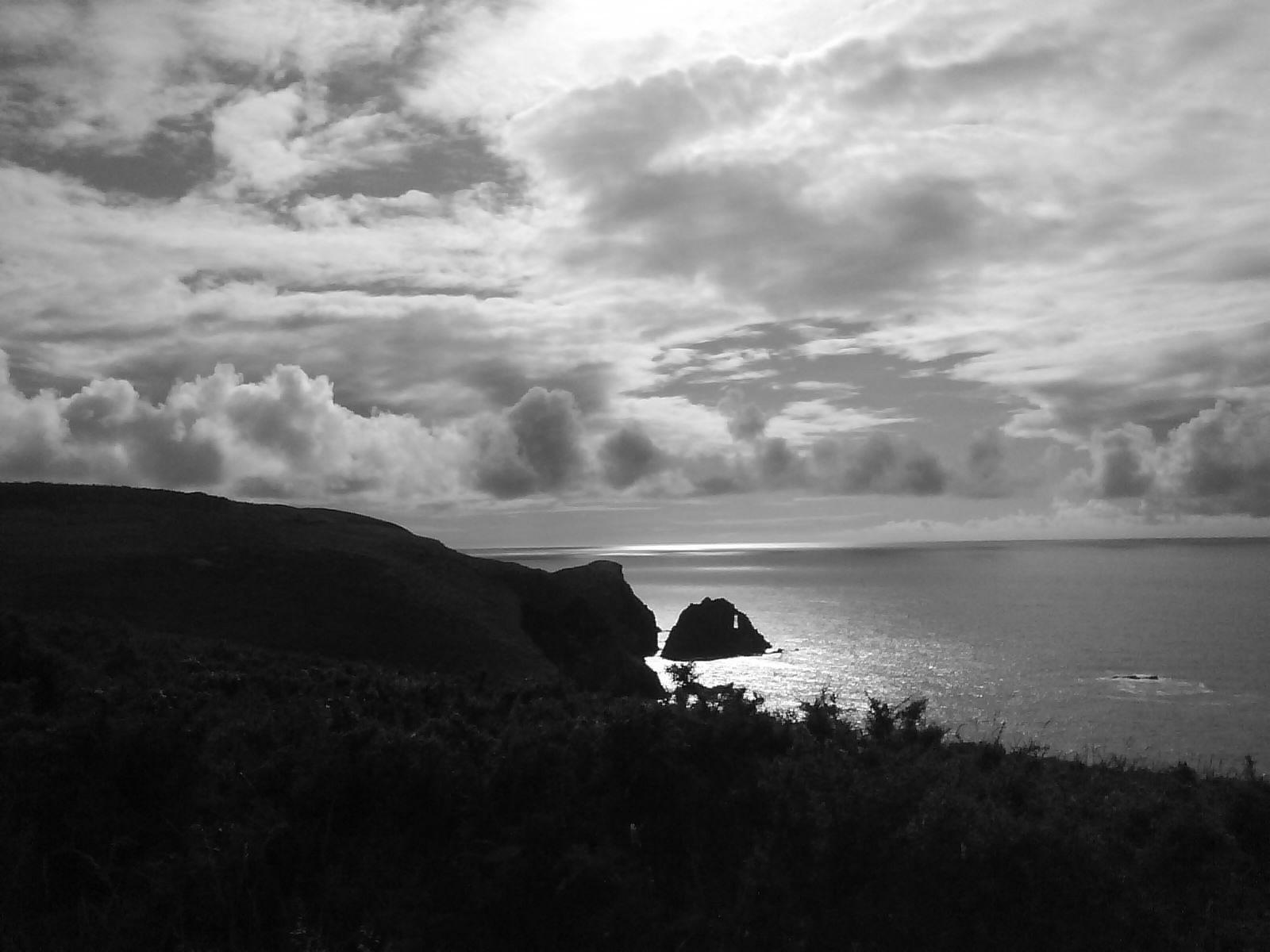 Foto playa Rosella. Valdoviño coast