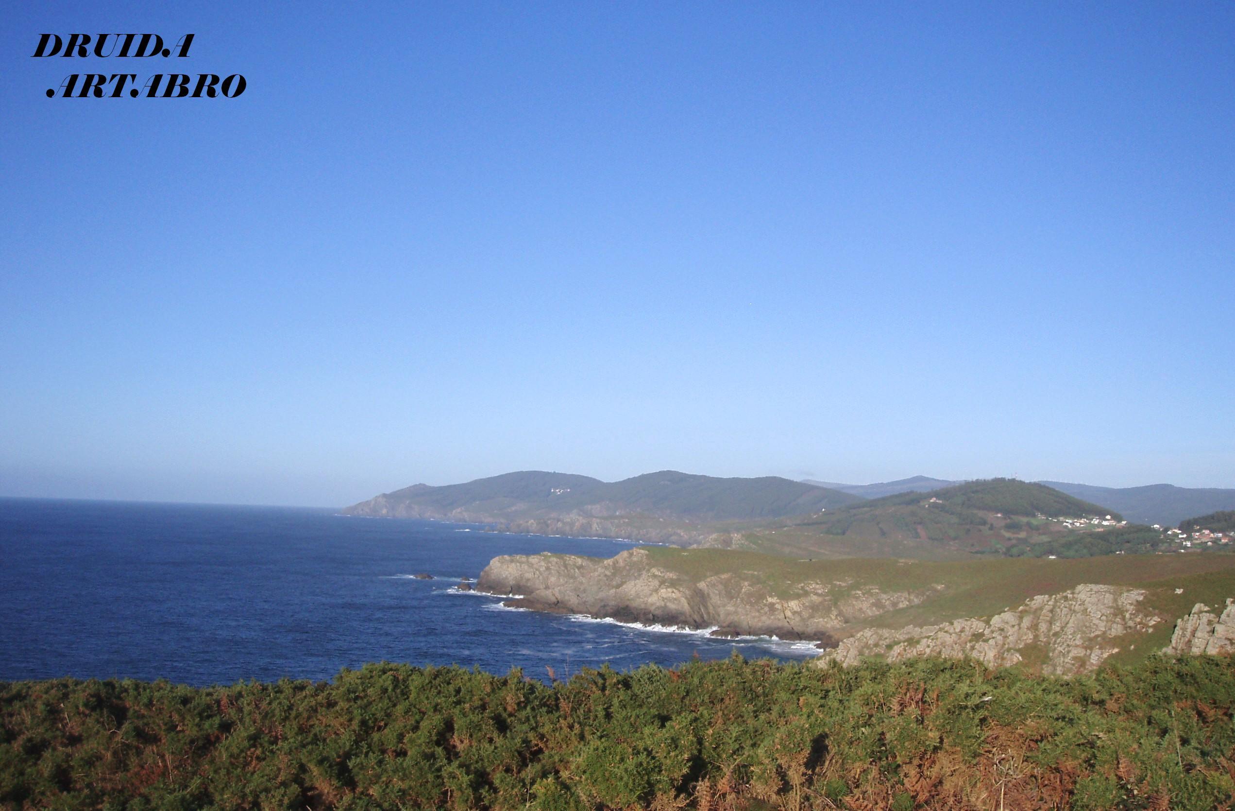 Foto playa Rosella. Costa de Valdoviño, Pantin