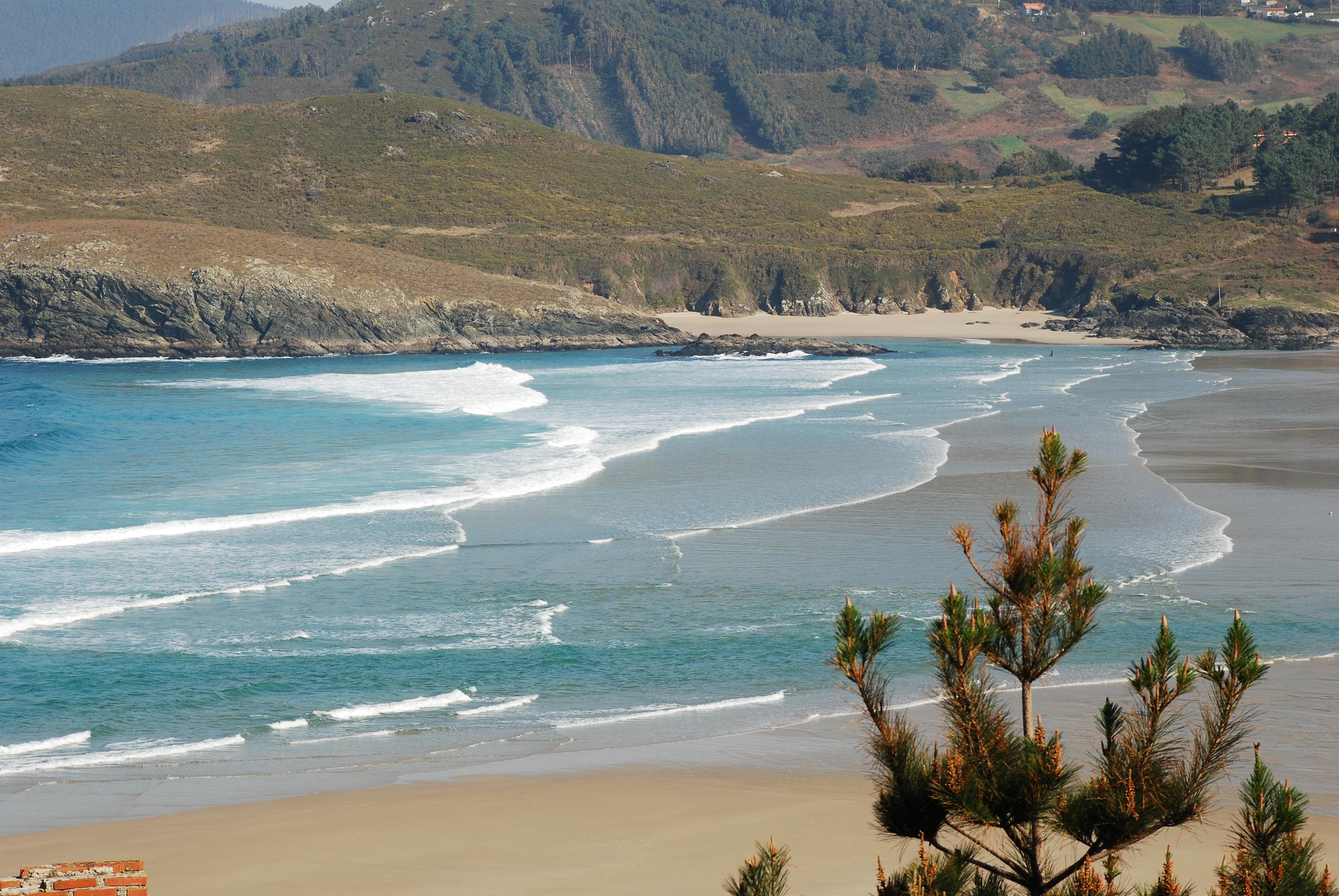 Playa Pantín / O Rodo