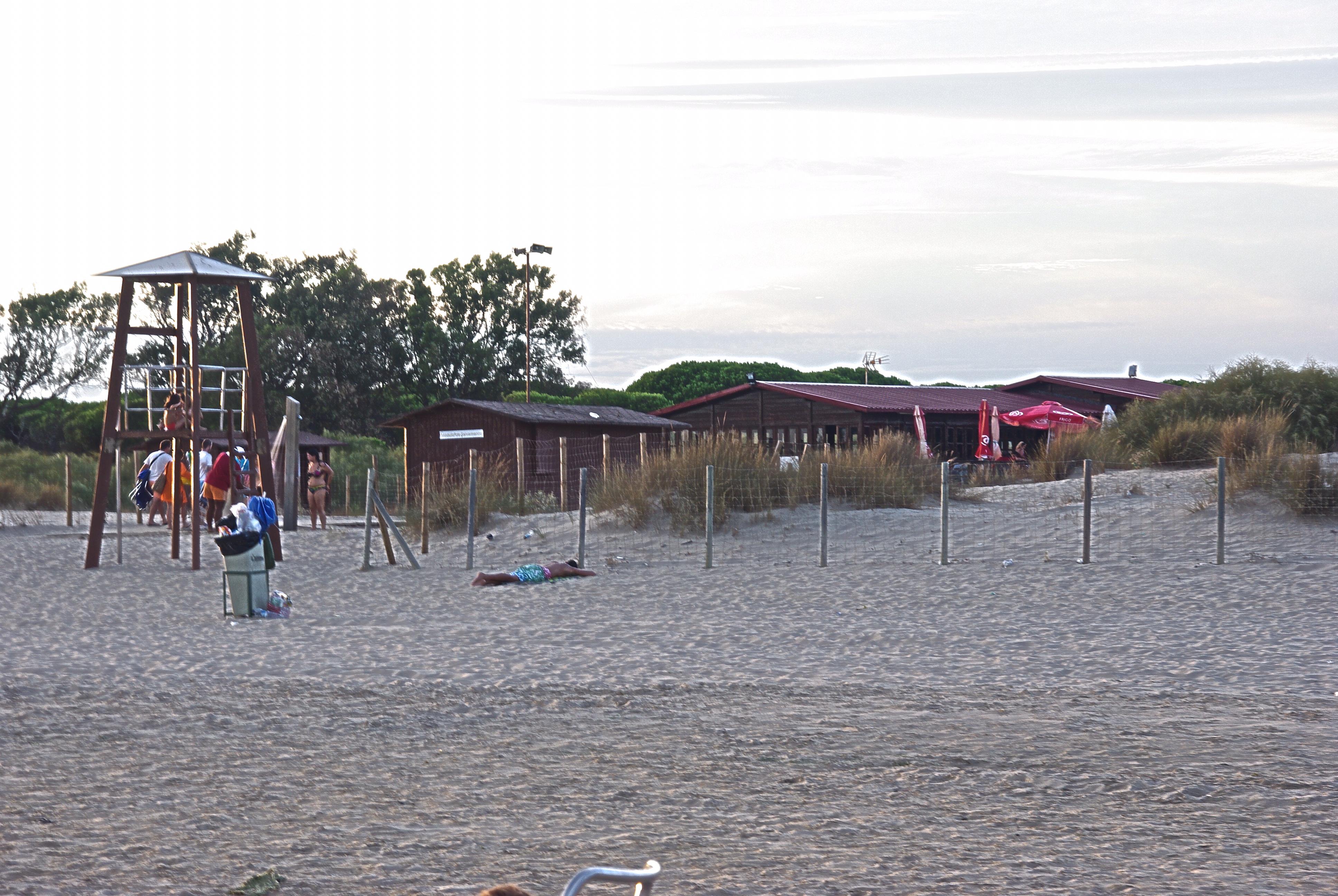 Foto playa Del Hoyo. Isla Cristina, Huelva