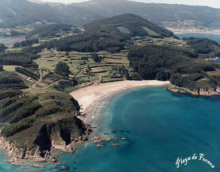 Foto playa A Postiña / Area dos Cabalos. MAZANTEU,FIGUEIROA Y FORNOS.