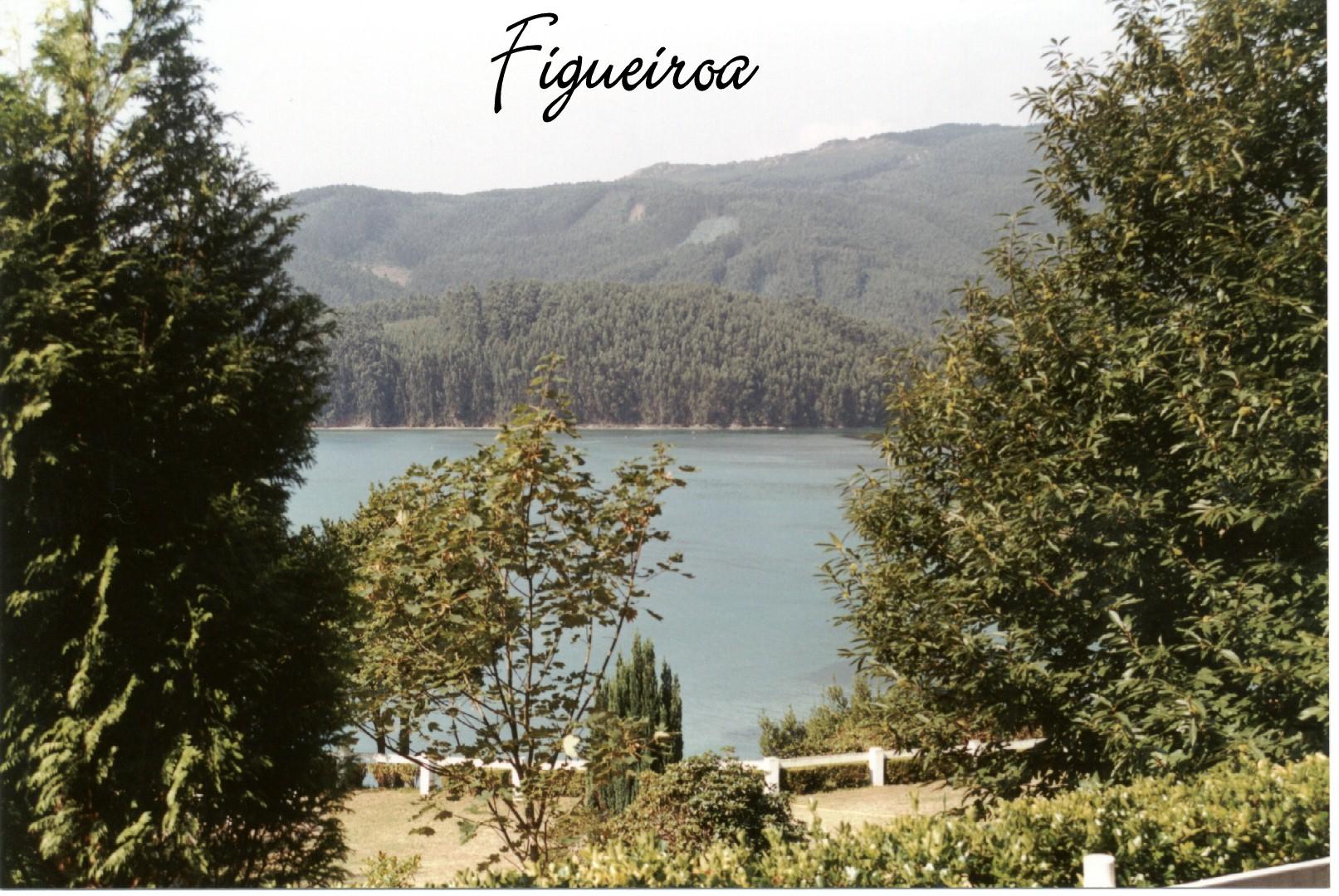 Foto playa Figueiras. Vista desde Figueiroa