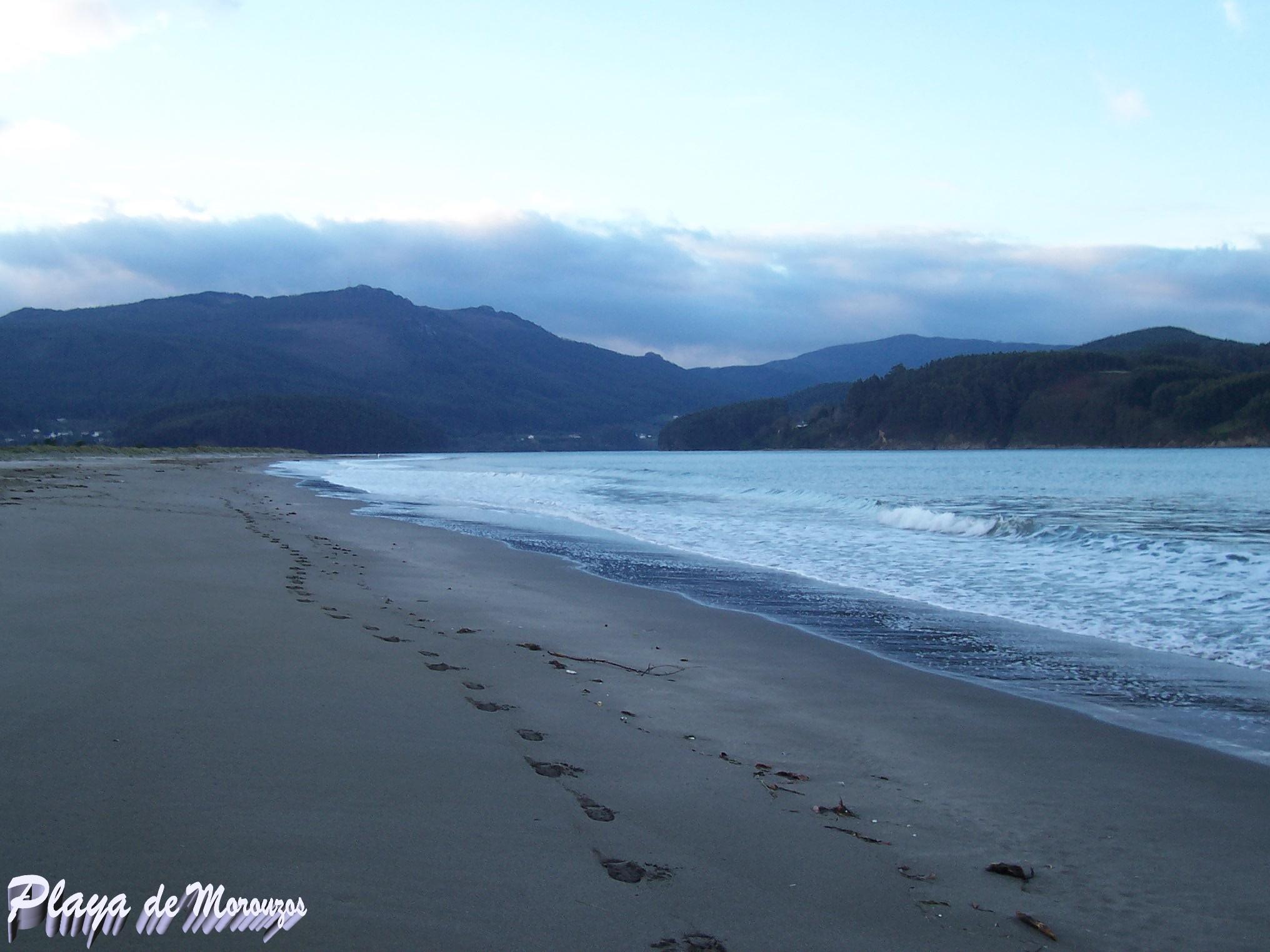 Foto playa Morouzos / Cabalar / San Martiño. PLAYA DE MOROUZOS
