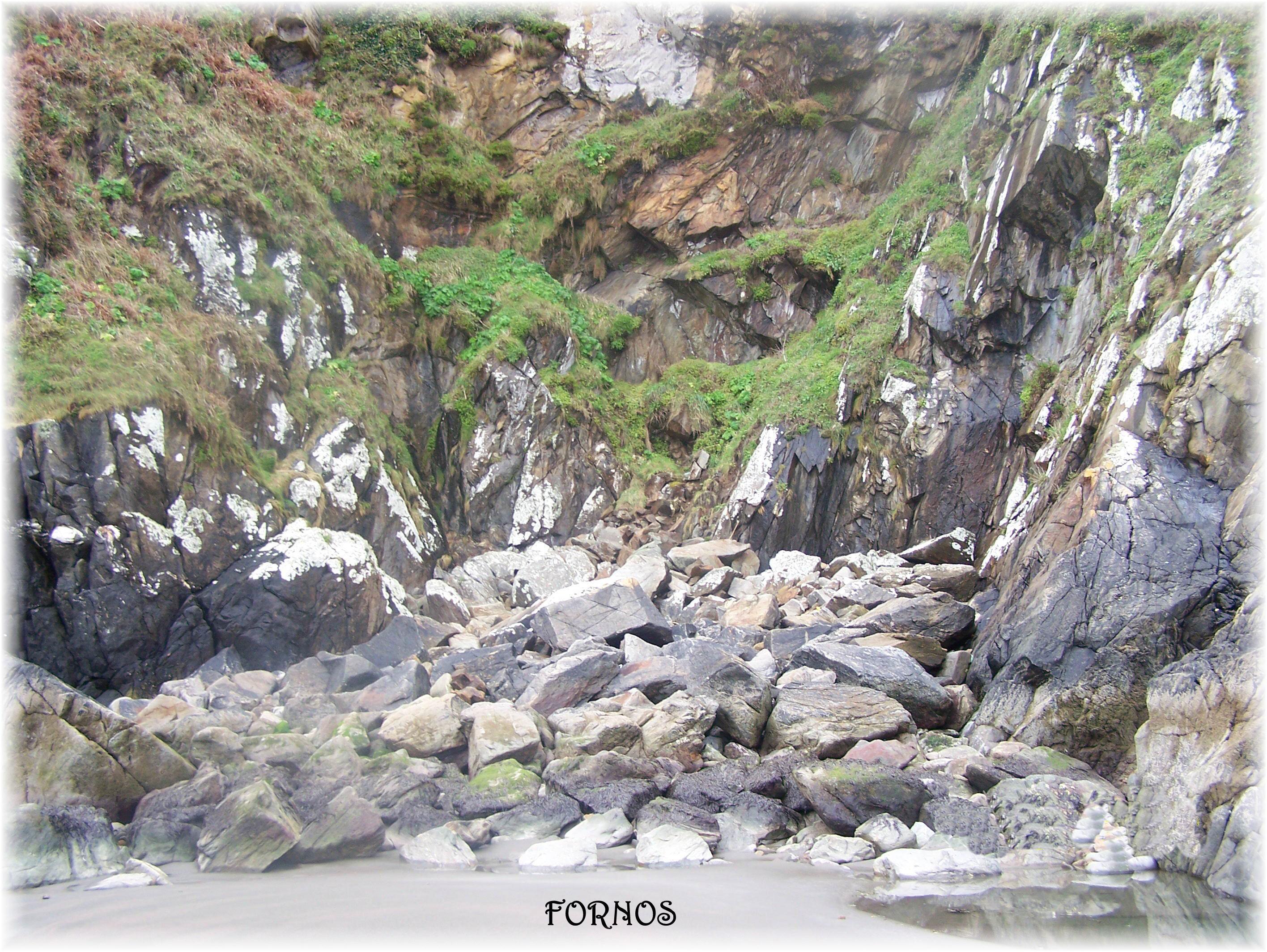 Foto playa Morouzos / Cabalar / San Martiño. Rincones de Fornos. 03 - 2008