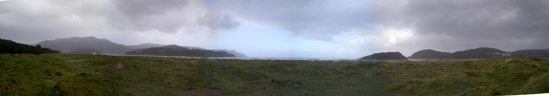 Foto playa Calas de Ladrido / Vidueiros. Panoramica de la playa de Morouzos