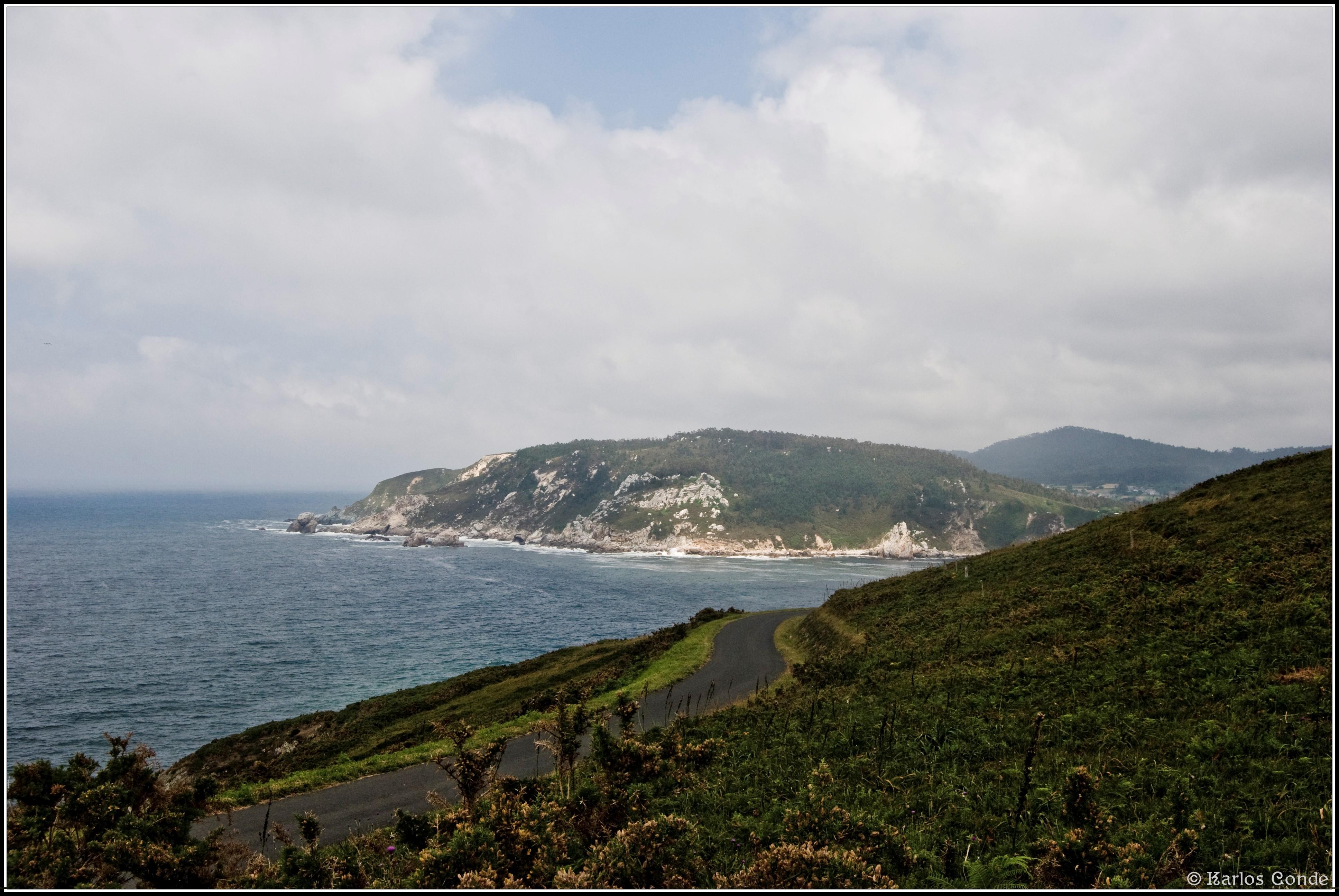 Foto playa Orbeiro / Santa Cristina. Vistas desde la Garita de Vela