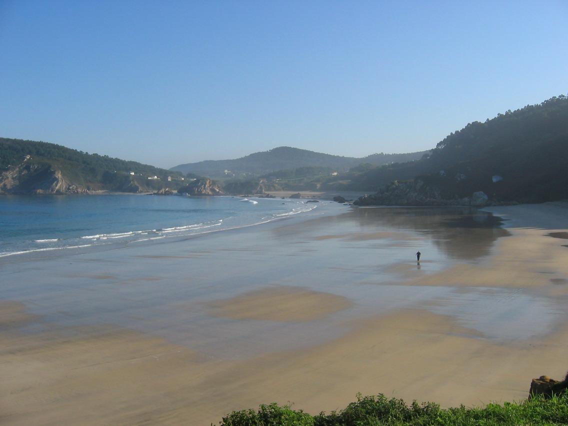Foto playa A Concha. Espasante Galicia 1