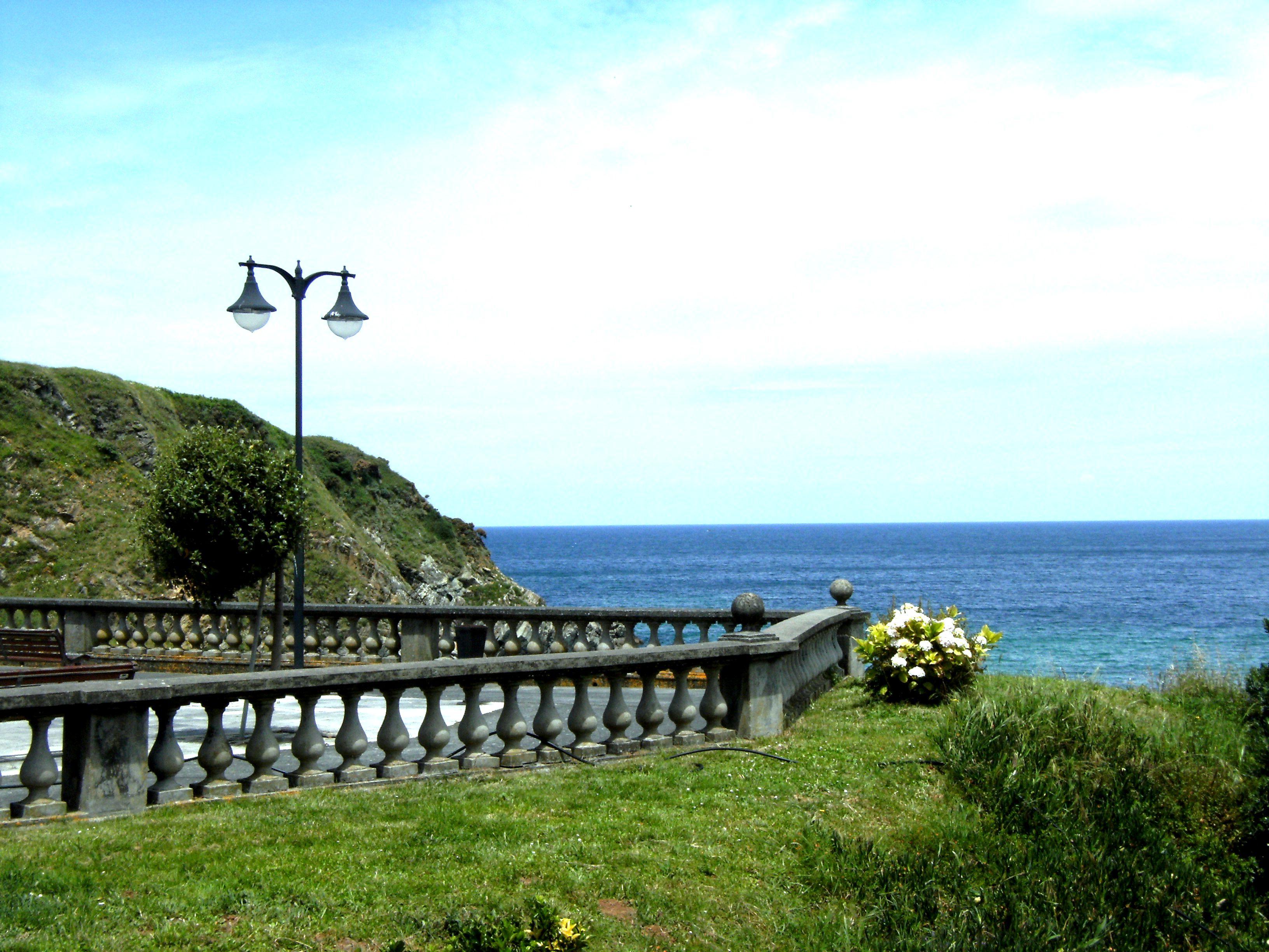 Foto playa A Concha. FAROLAS DEL MAR