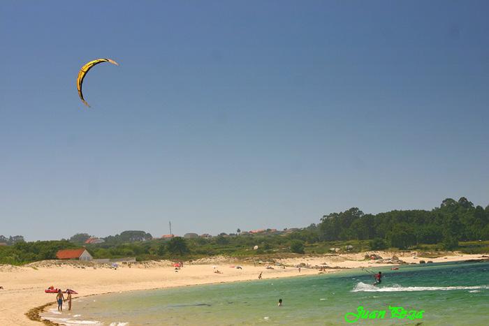 Foto playa Eiron. Praia A mexilloeira