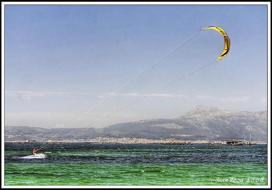 Foto playa Eiron. Kitesurf