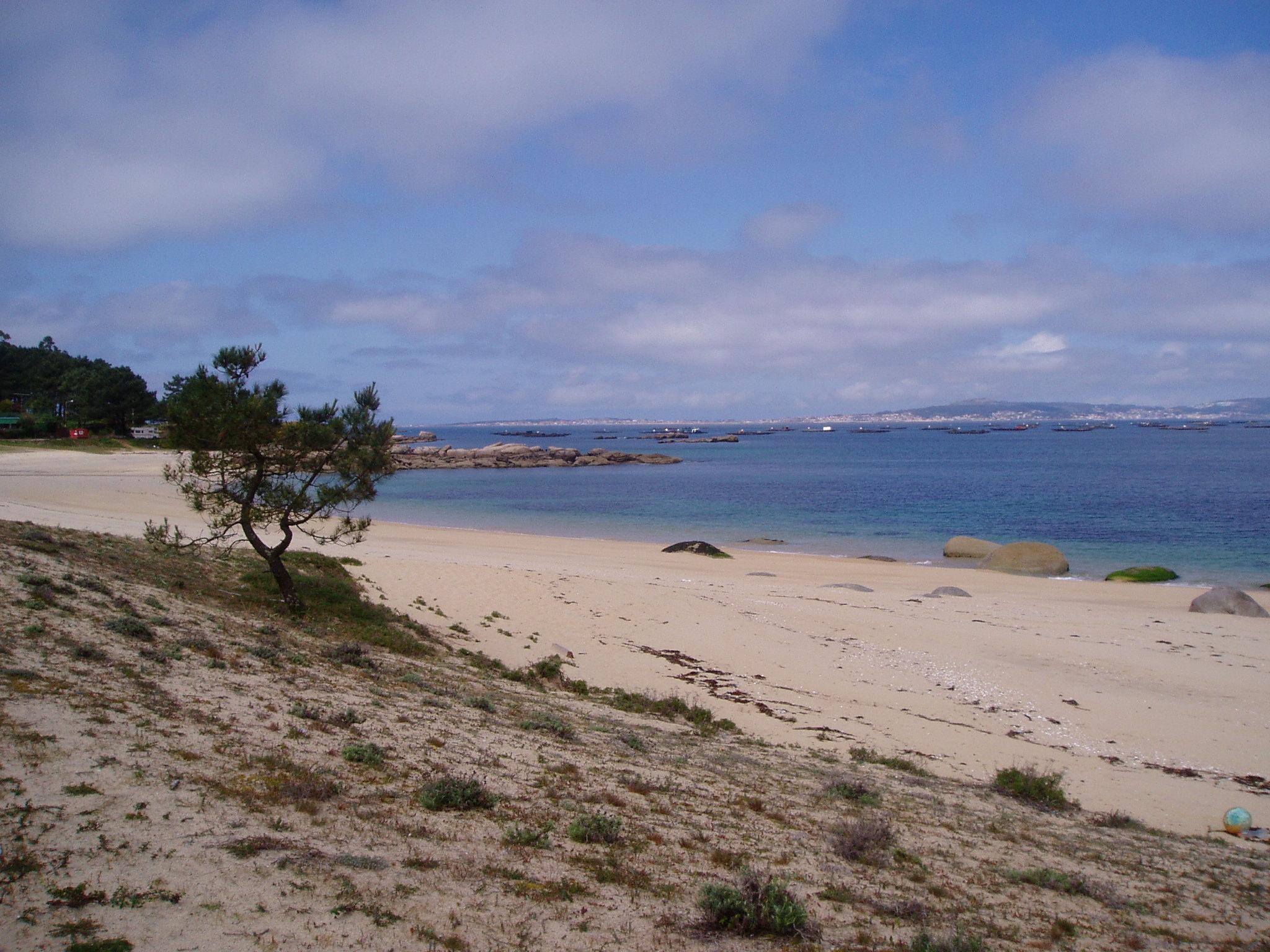 Foto playa Eiron. Praia de Areagrande