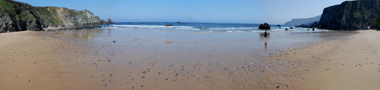 Foto playa O Picón. picón
