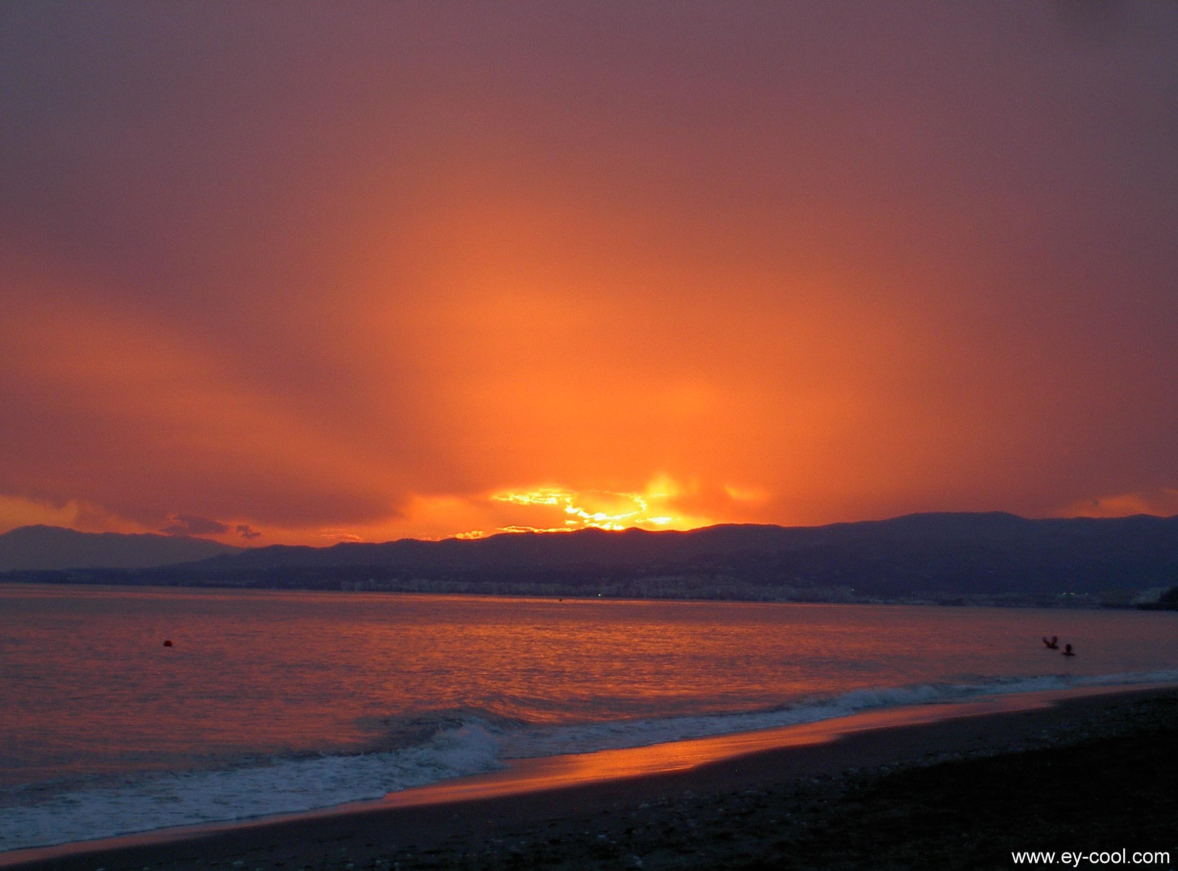 Foto playa El Cenicero / Los Llanos. Costa del Sol - El Morche