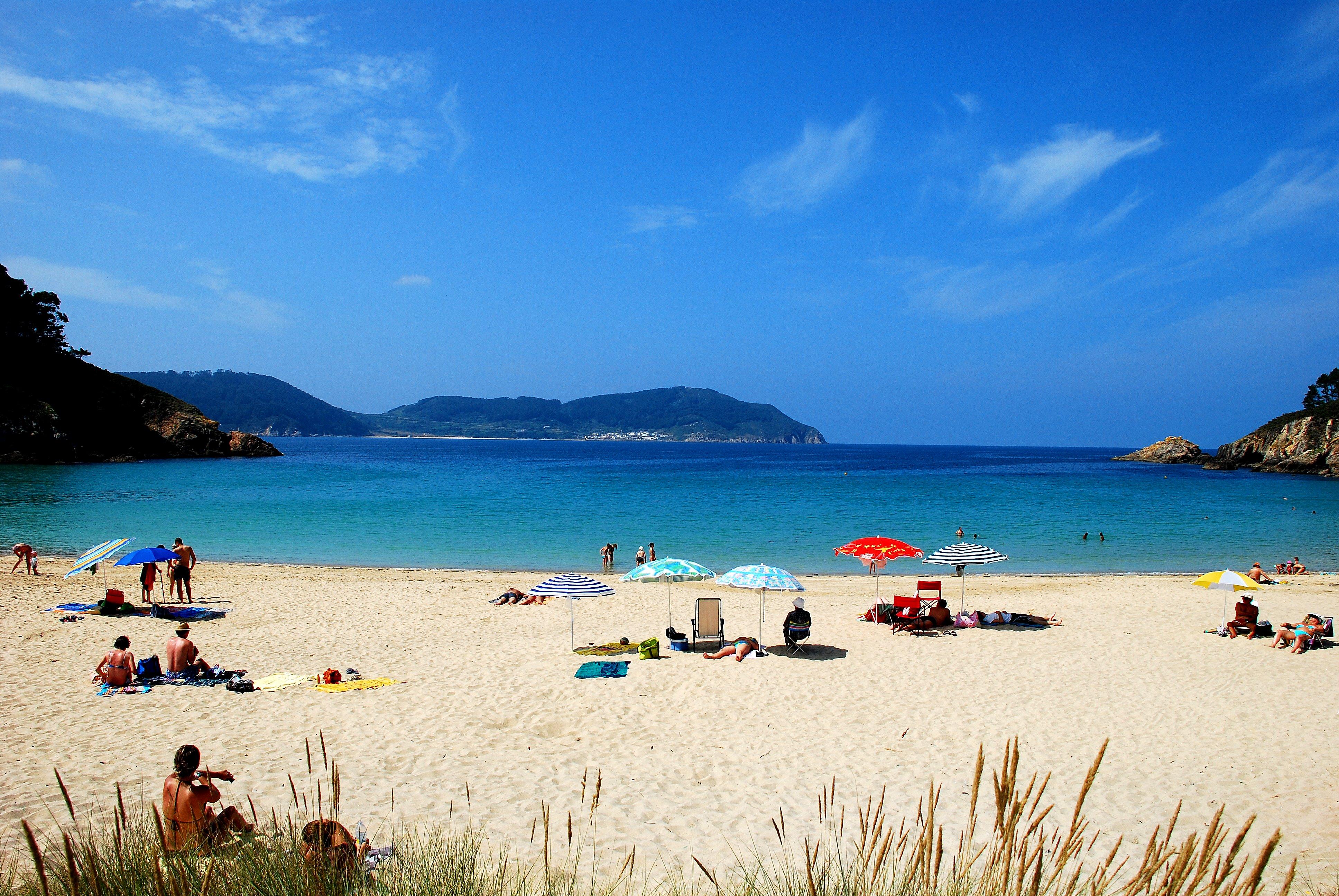 Foto playa Arealonga. Playa del barquero Galicia España Lugo