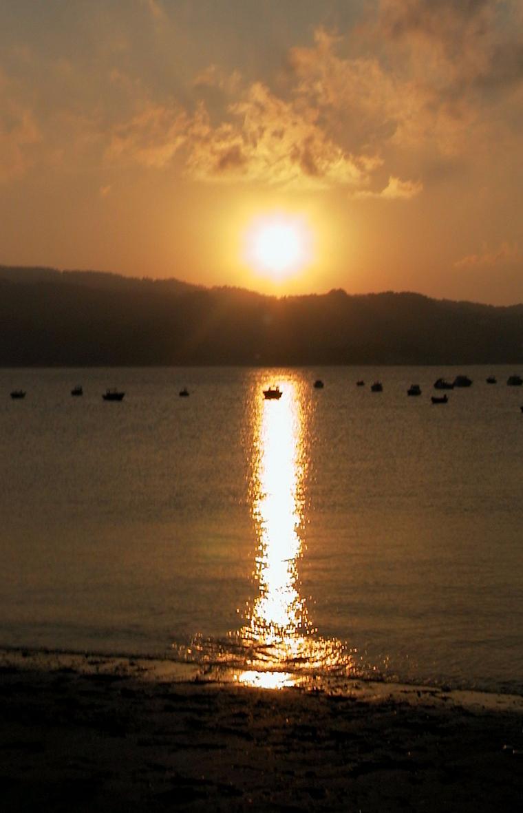 Foto playa Fomento. Vicedo. Lugo.