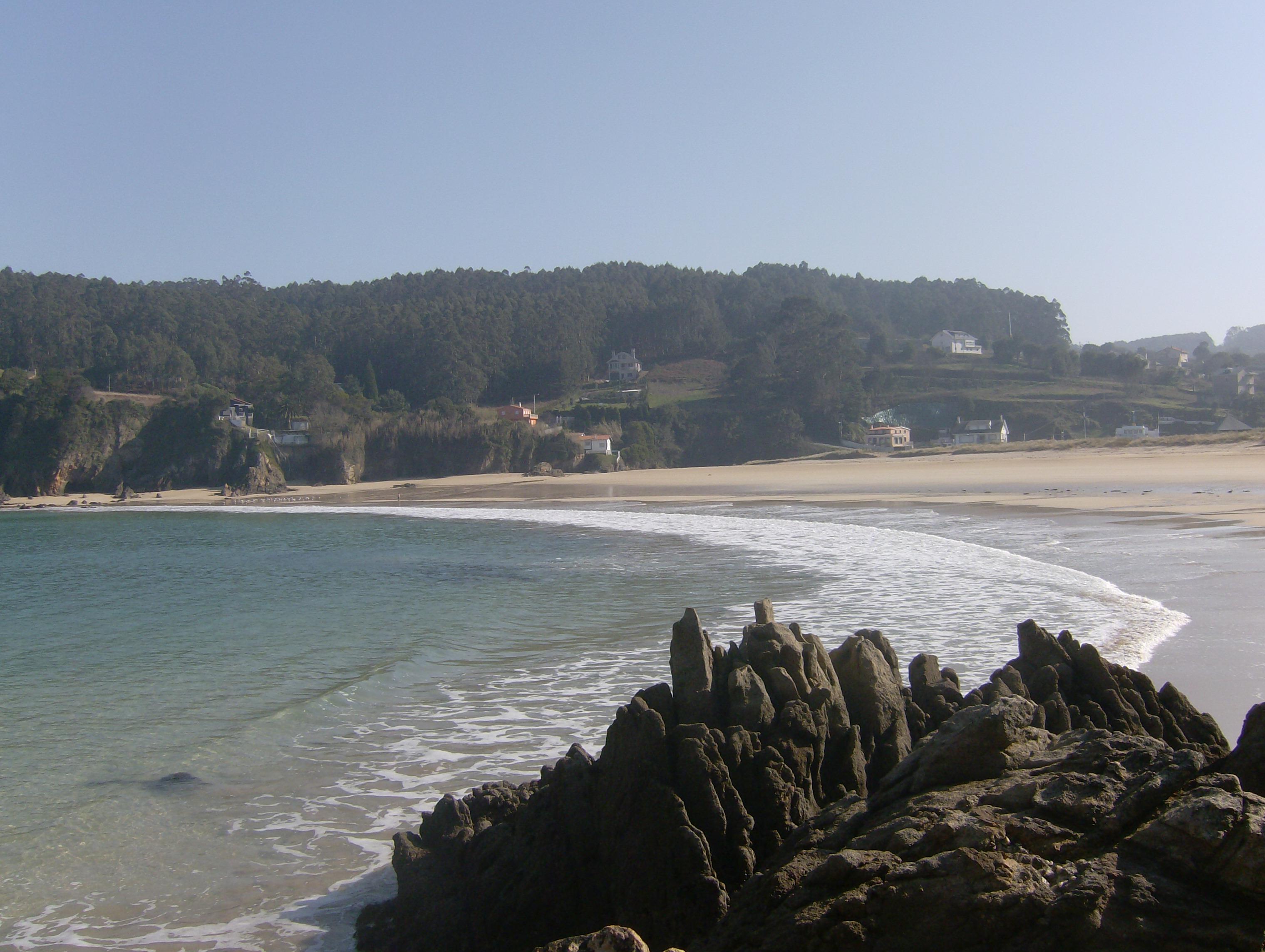 Foto playa Xilloy. Vista Praia esqda