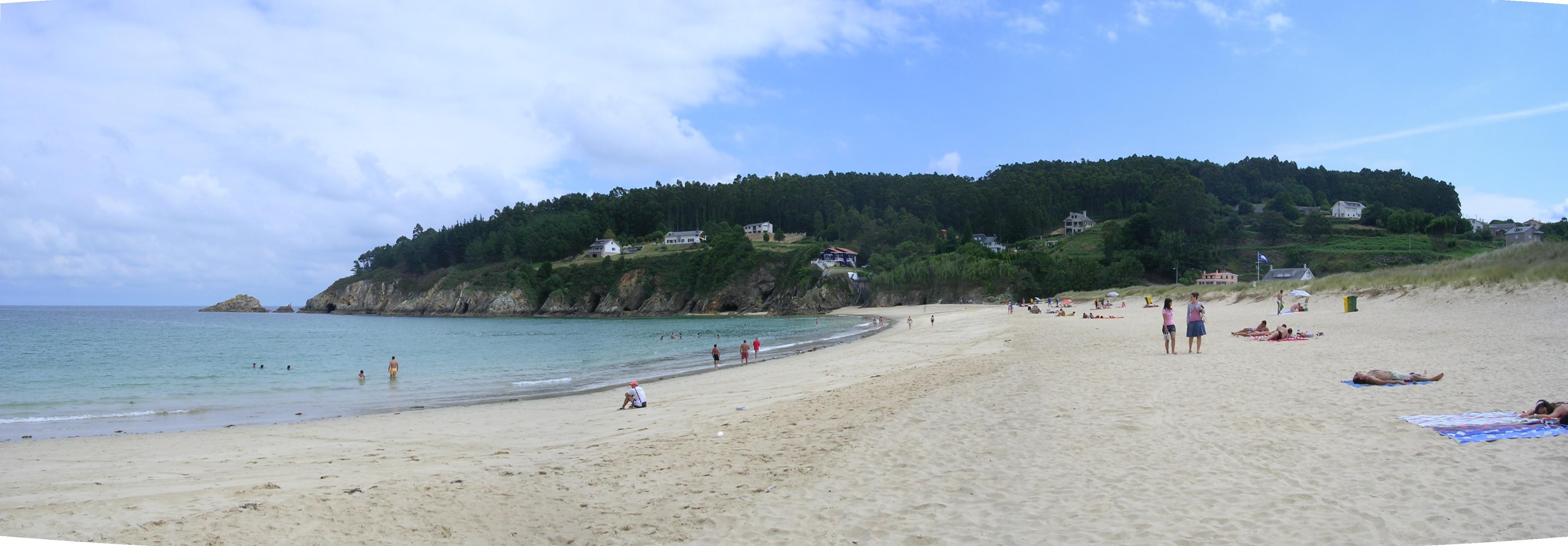 Foto playa Xilloy. O Vicedo, Xilloi