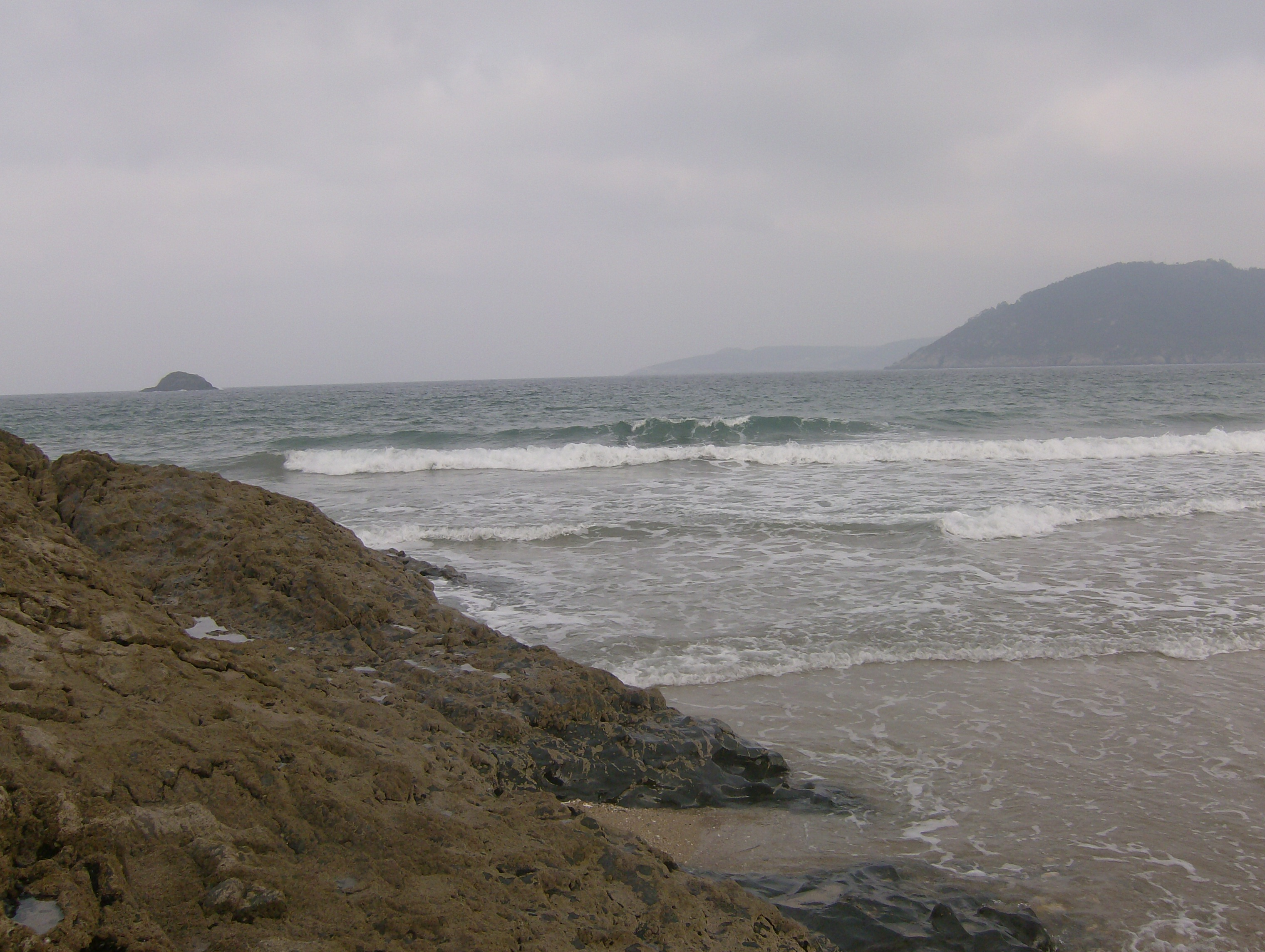 Foto playa Sacido. A Brela 2