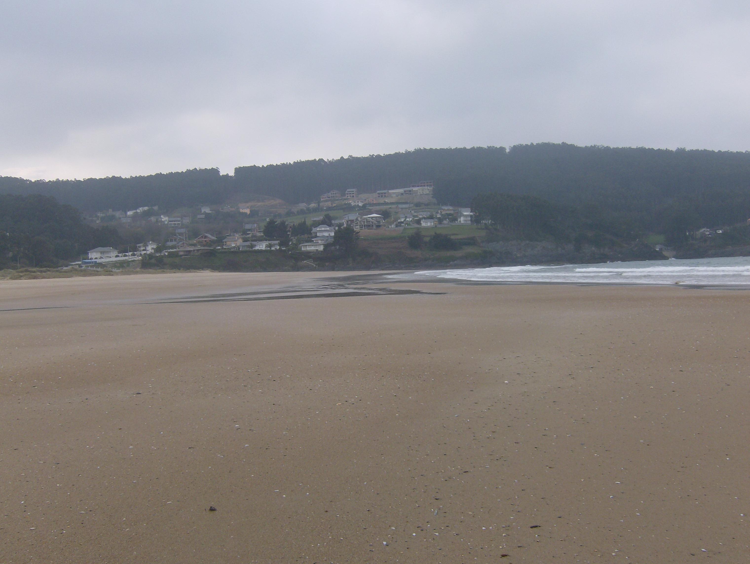 Foto playa Sacido. A Brela 3