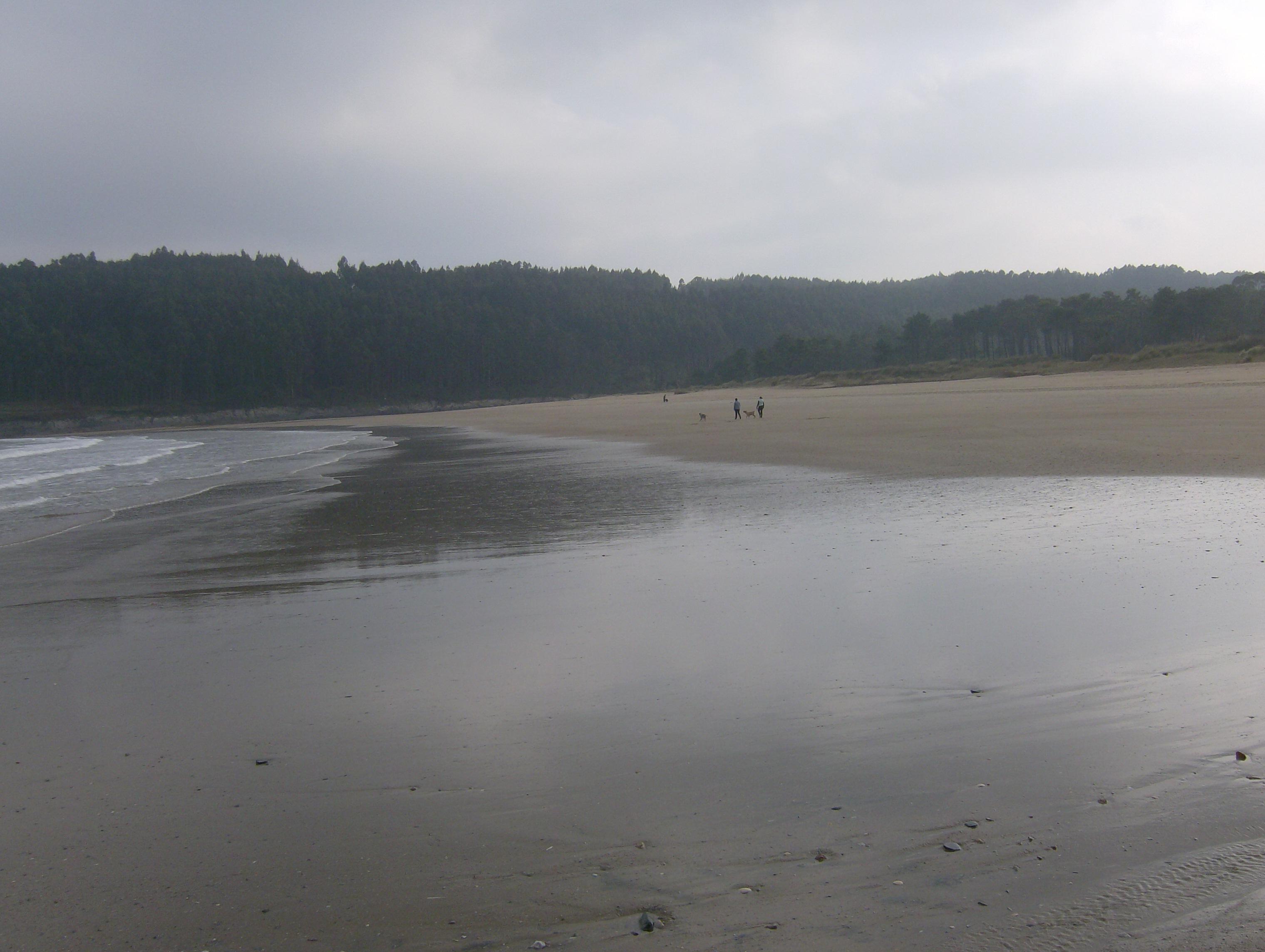 Foto playa Sacido. A Brela 1