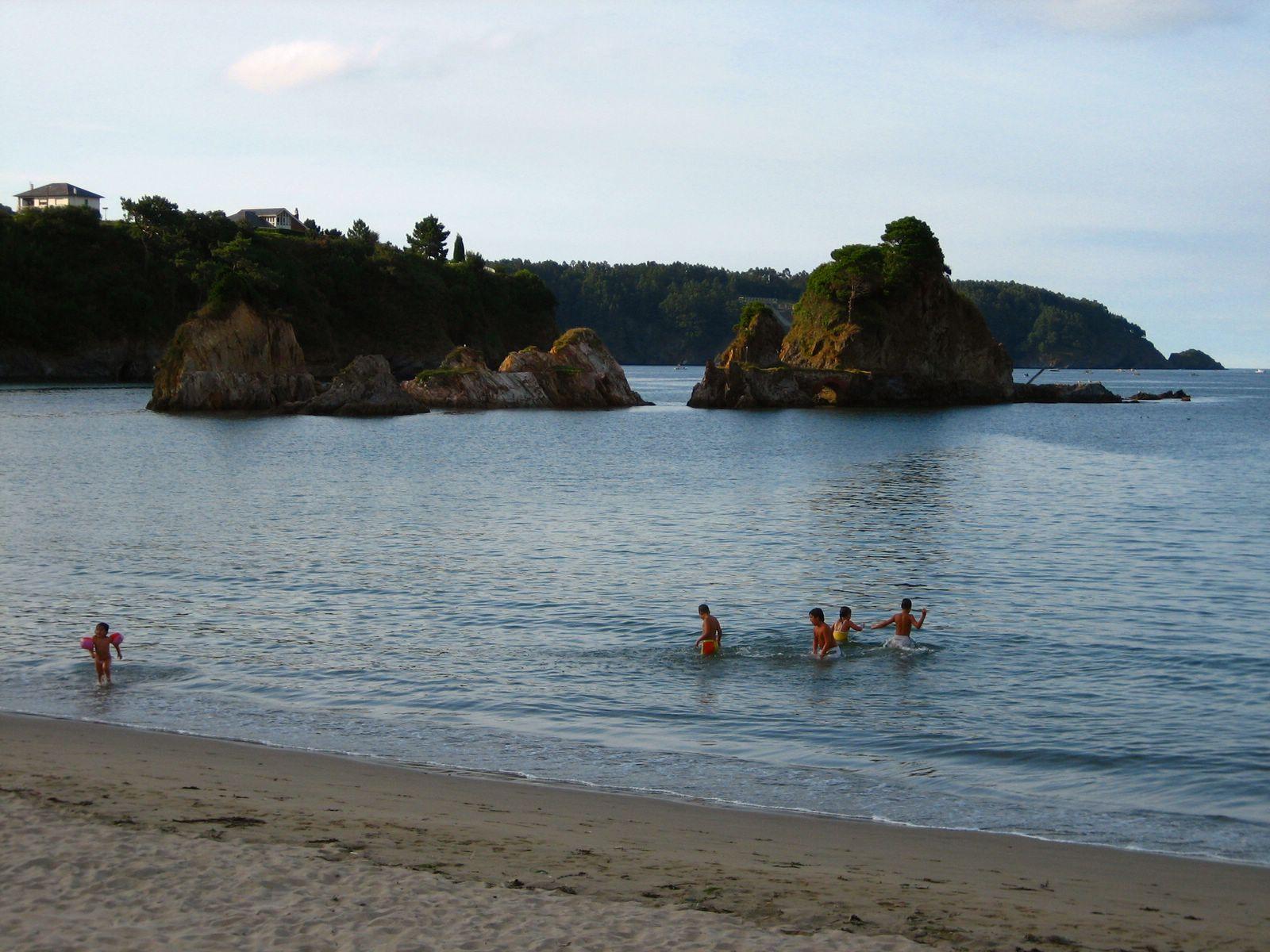 Foto playa Seiramar / Falla. Playa de Cobas - Viveiro