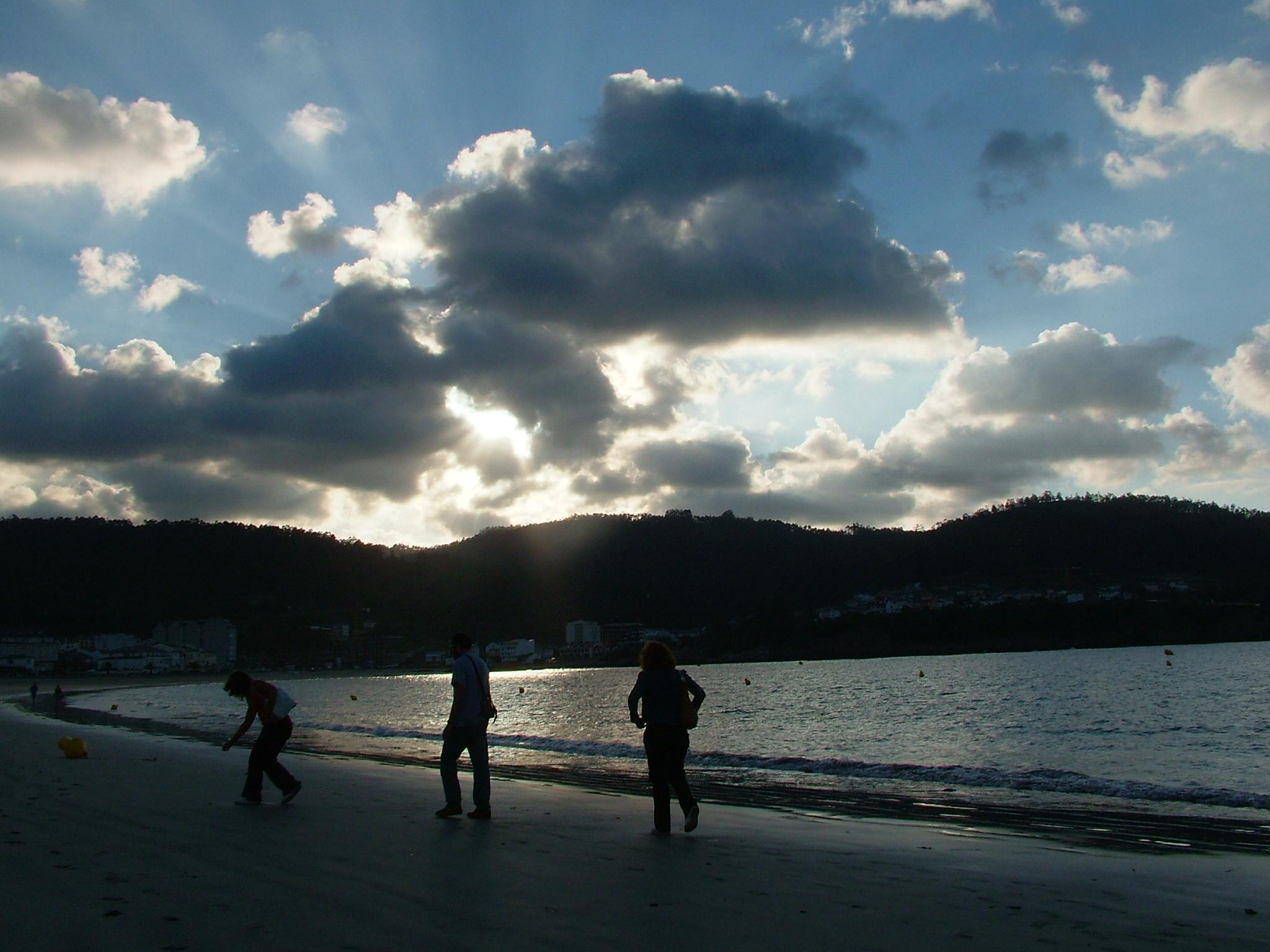 Foto playa Seiramar / Falla. Viveiro. Playa de Covas