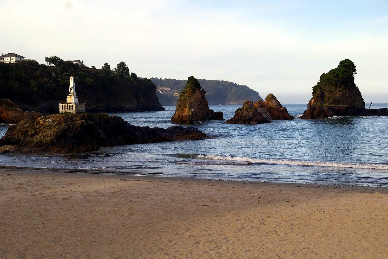 Foto playa Seiramar / Falla. Playa de Covas, Viveiro, Lugo, Galicia