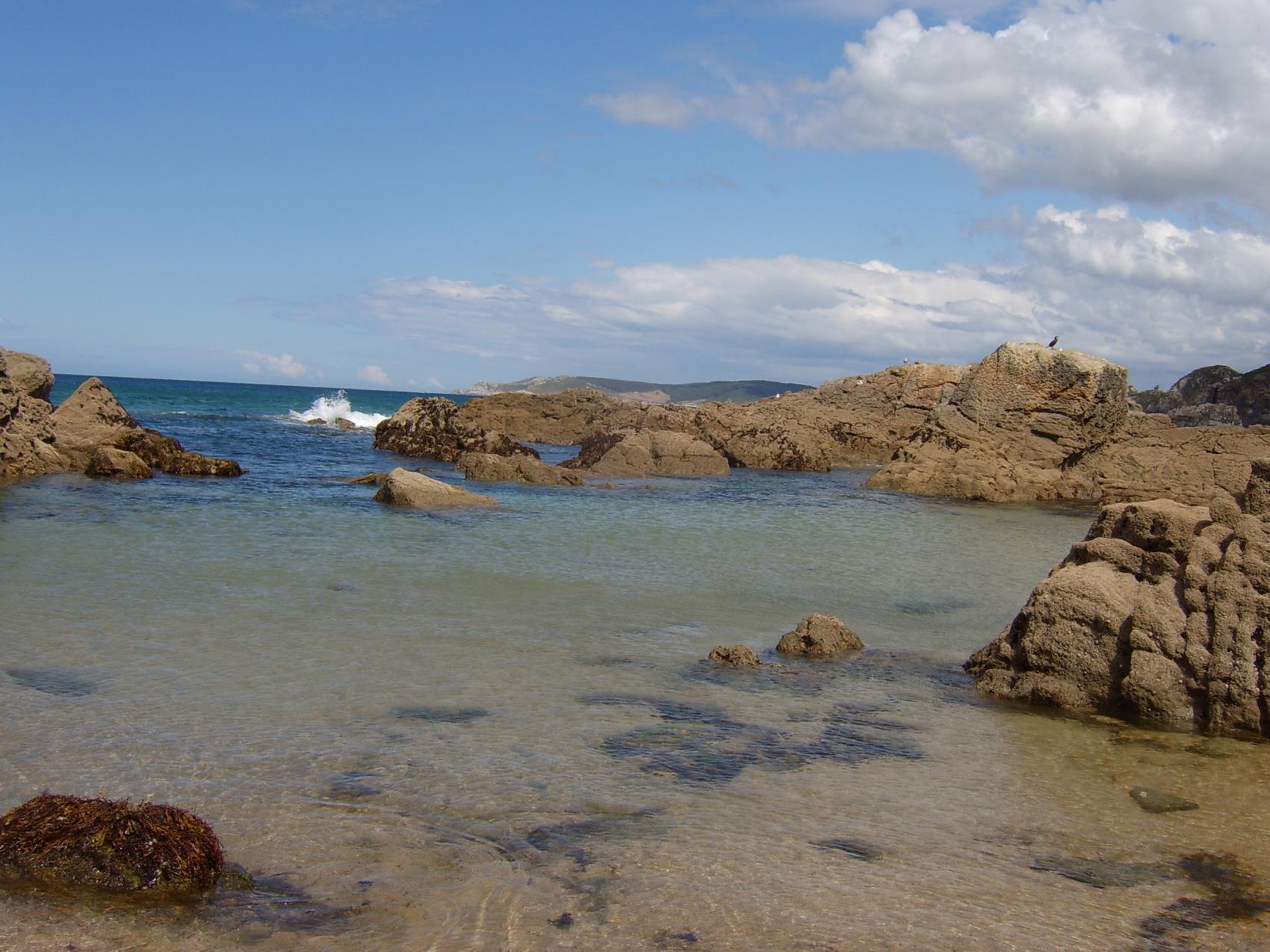 Foto playa Seiramar / Falla. Playa de San Roman
