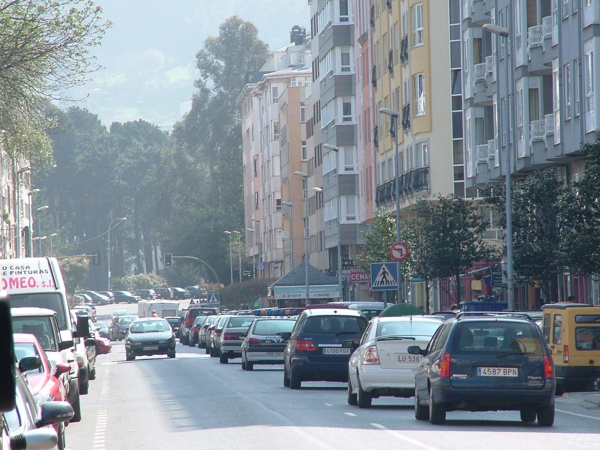 Foto playa Covas. Viveiro, Avenida Cantarrana