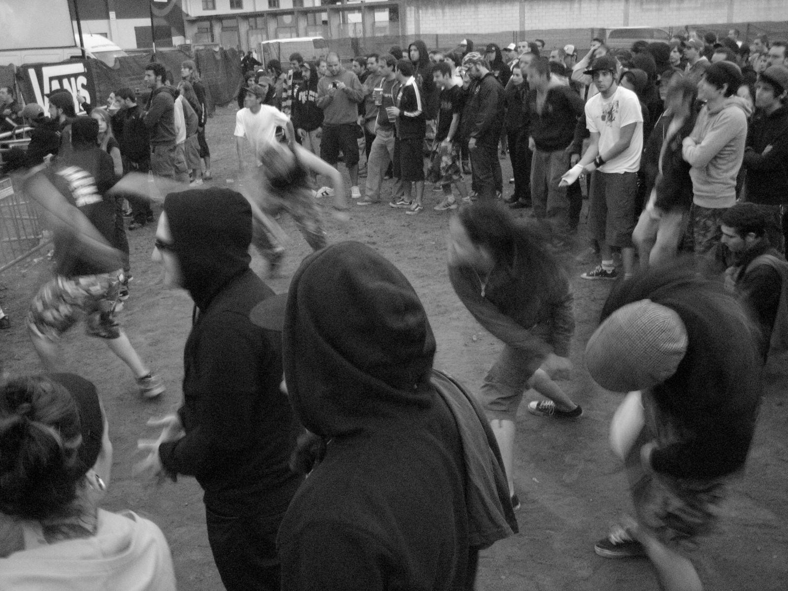 Foto playa Covas. Viveiro - Resurrection Fest 2007