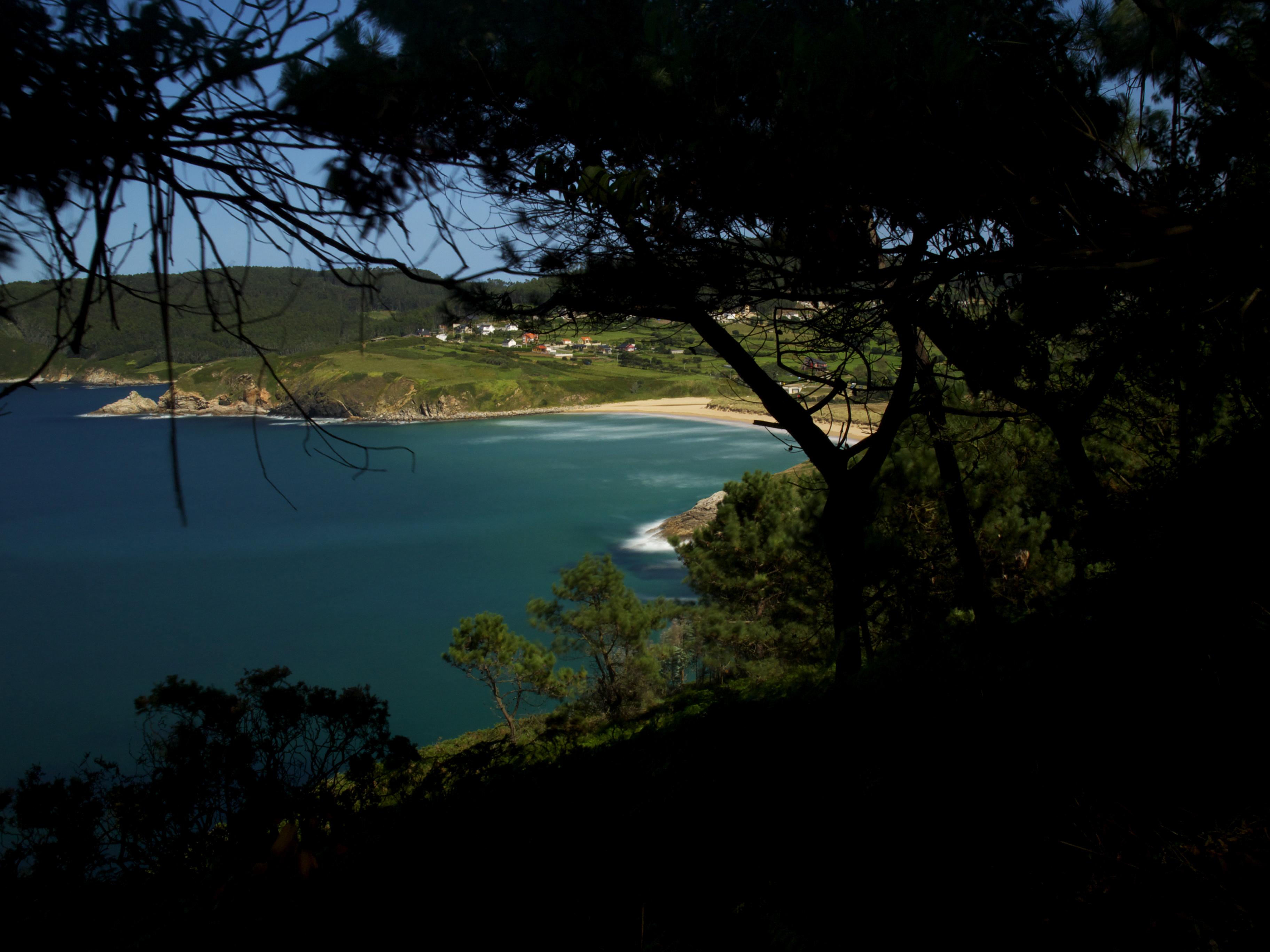 Foto playa Portonovo. Praia de Esteiro