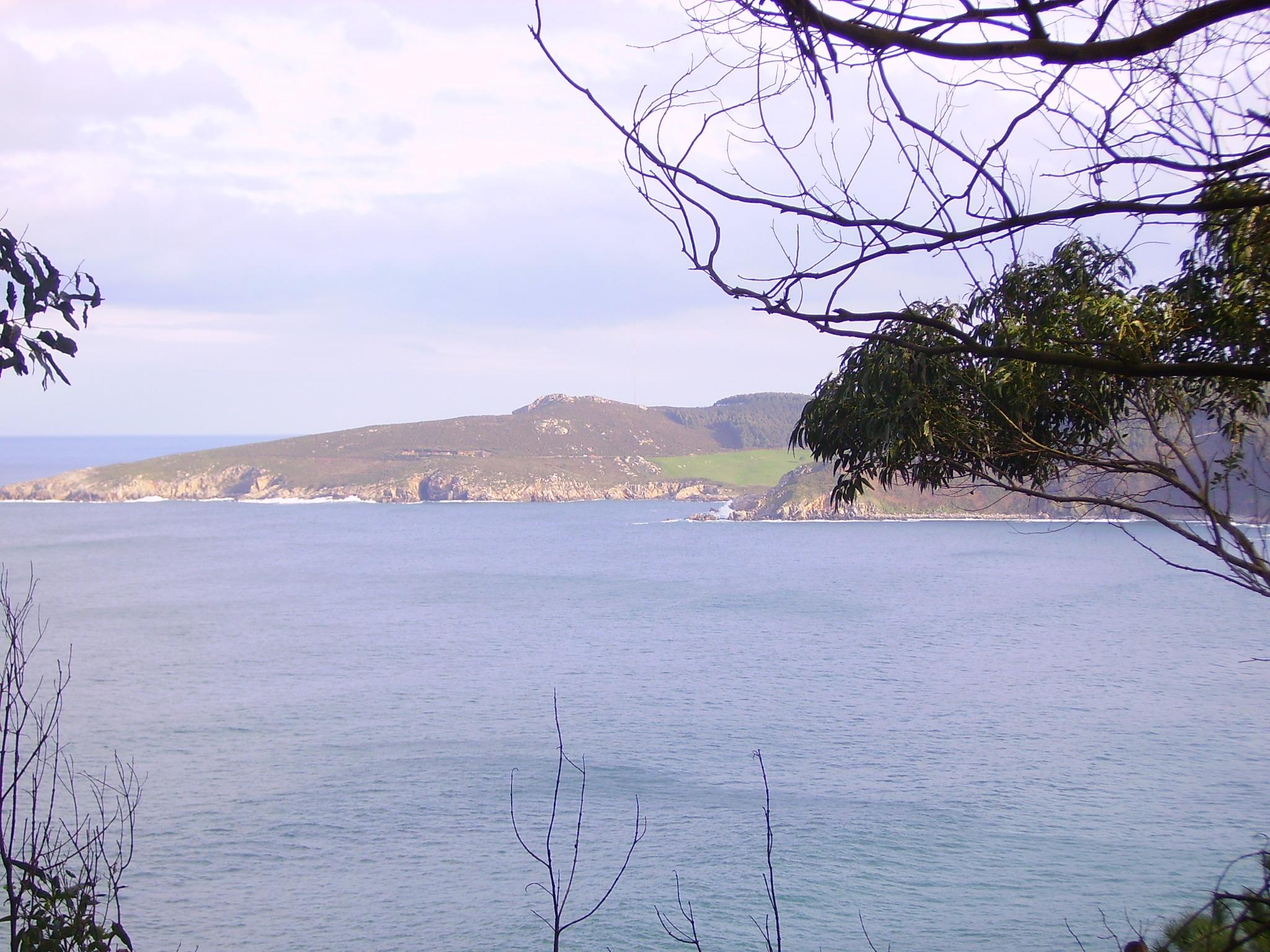 Foto playa Portonovo. Vista de