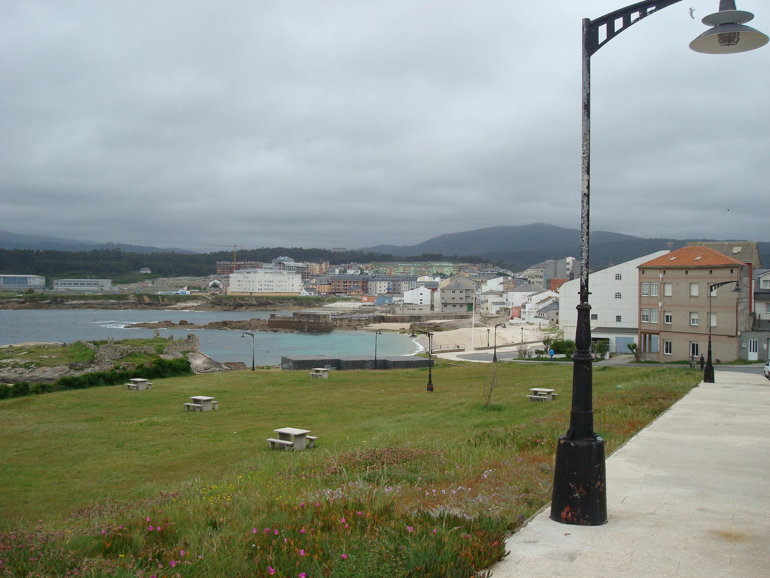 Foto playa O Torno. San Cibrao