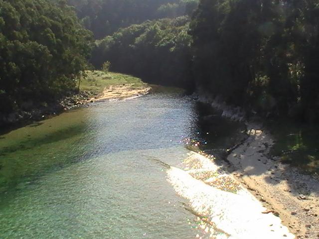 Foto playa Rueta. o Rio Xunco en Rueta