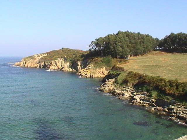 Foto playa Rueta. punta do castro Rueta