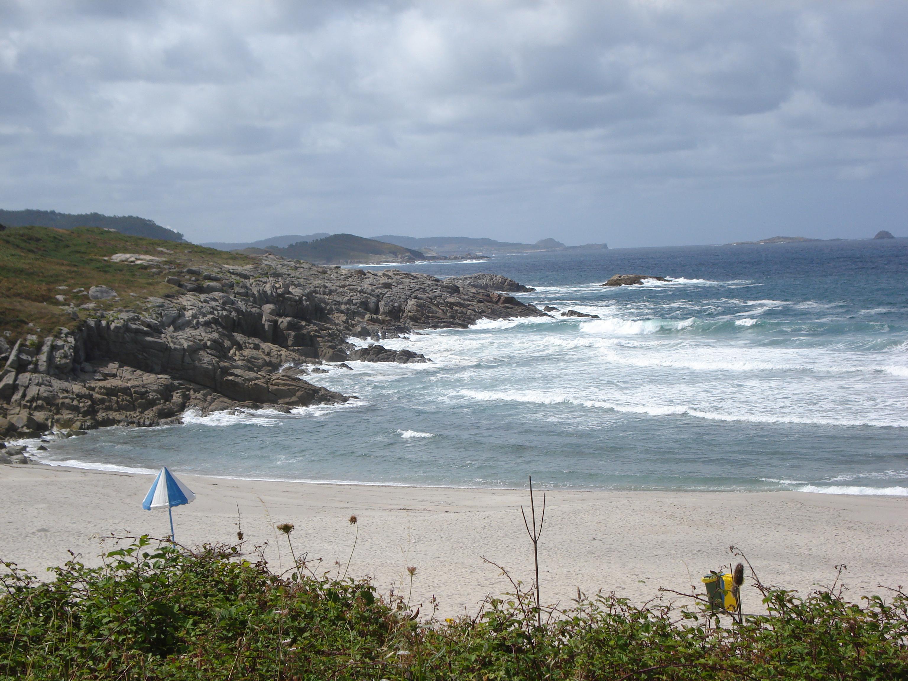 Foto playa A Marosa. Praia da Marosa