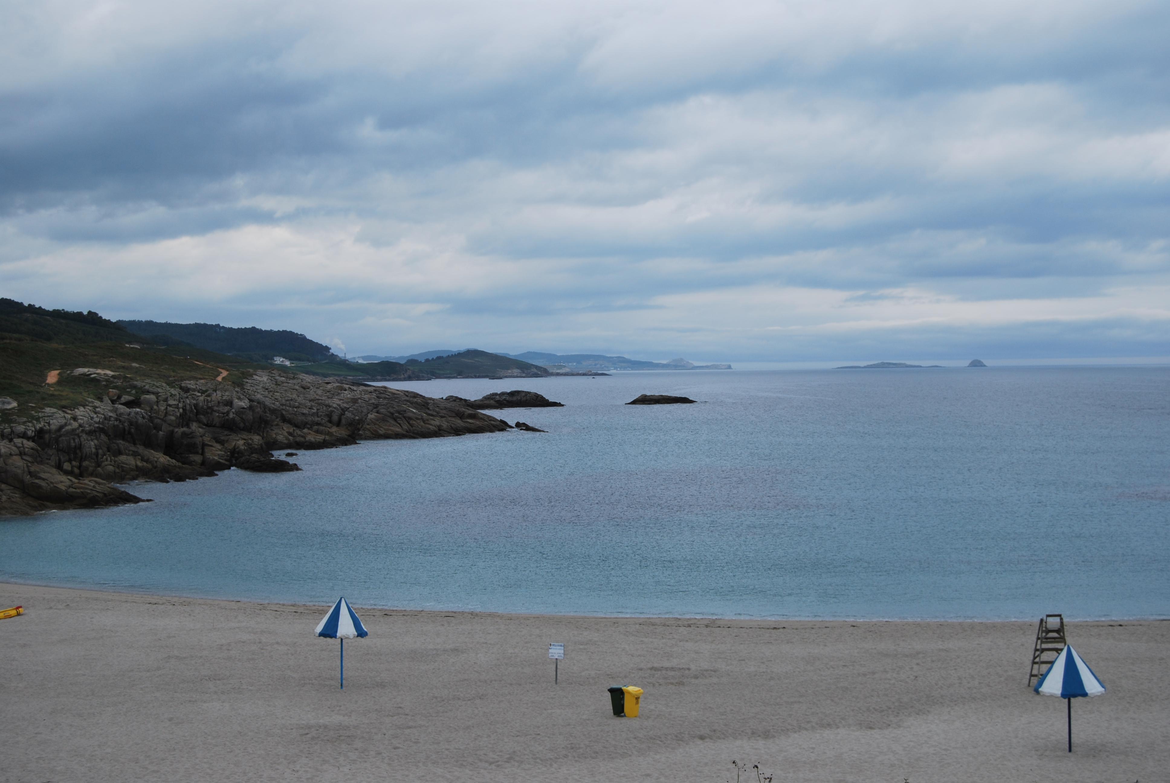 Foto playa A Marosa. Praia de la Marosa