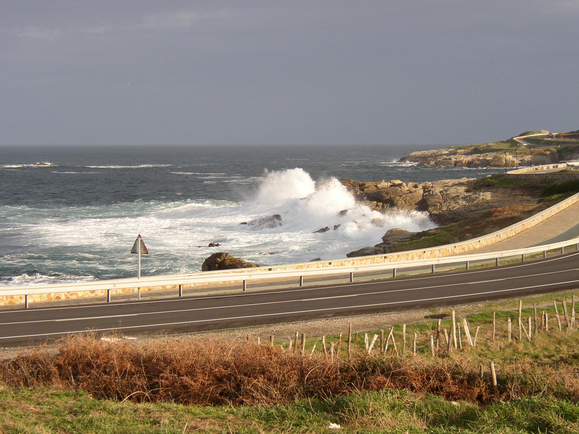 Foto playa A Marosa. cerca de la playa de A Marosa (Burela)