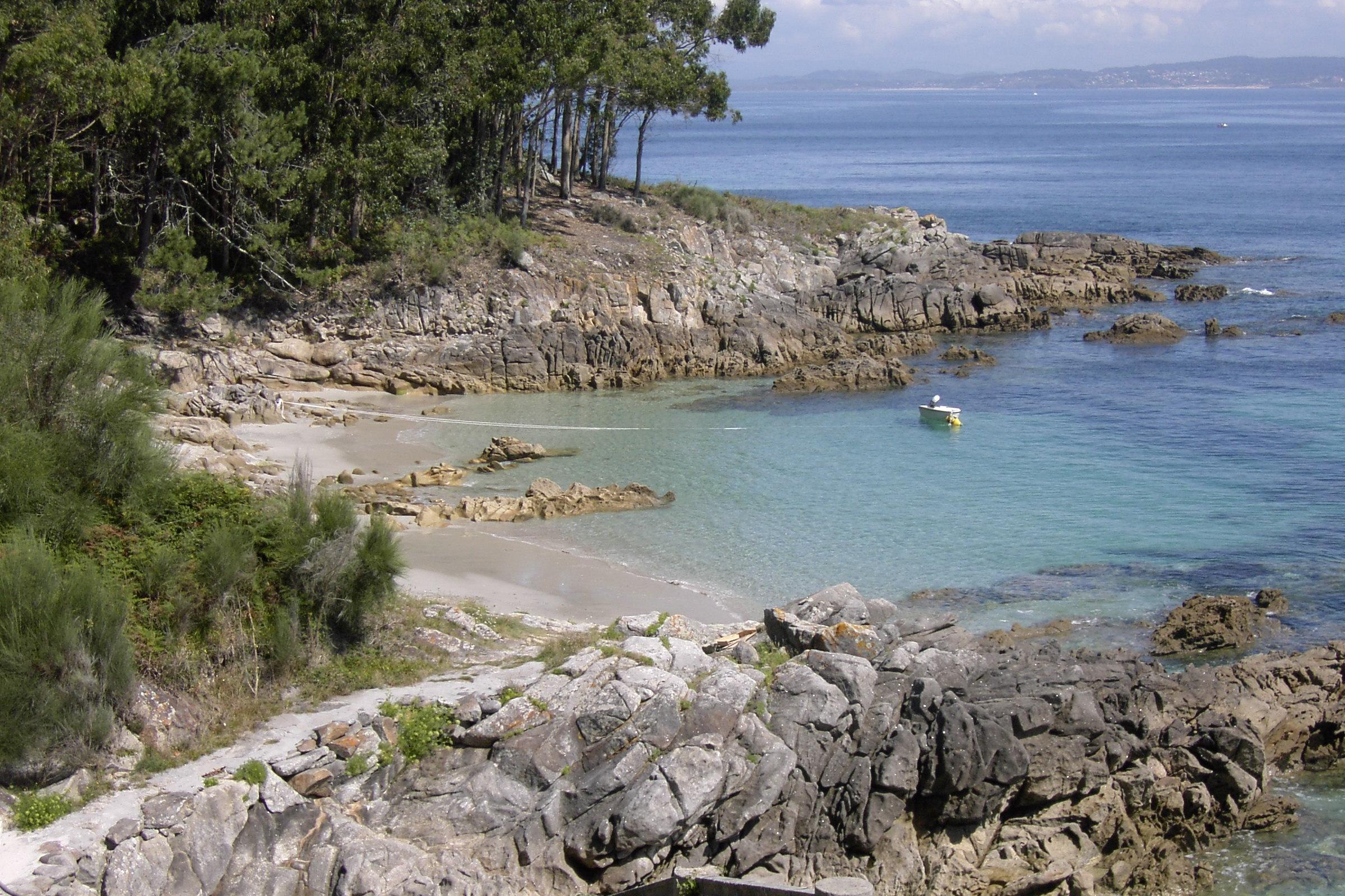 Foto playa Area Brava / Os Alemáns / Alemanes. CALITA EN HIO