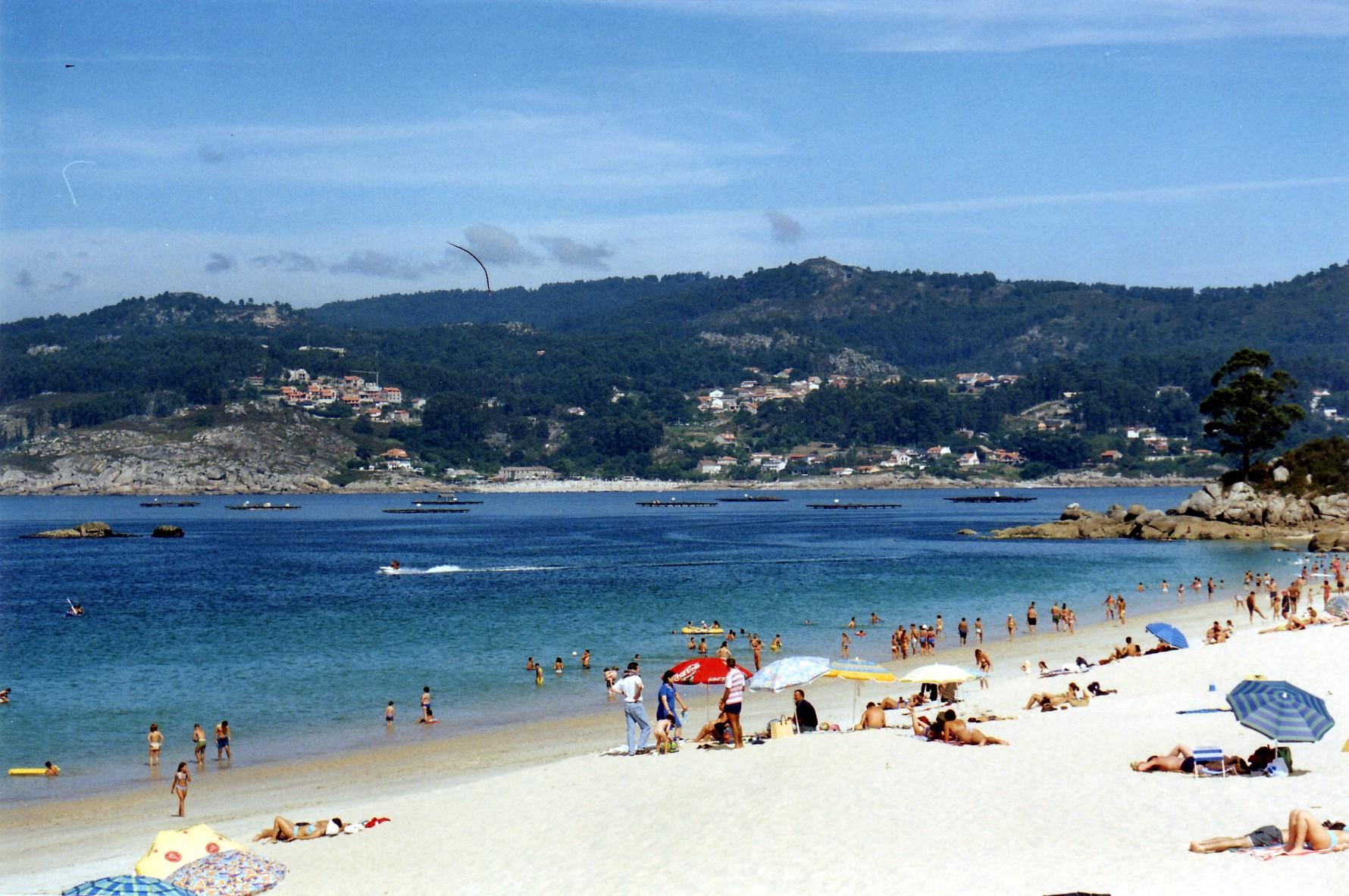 Foto playa Area Brava / Os Alemáns / Alemanes. Playa de Area Brava, Vilanova