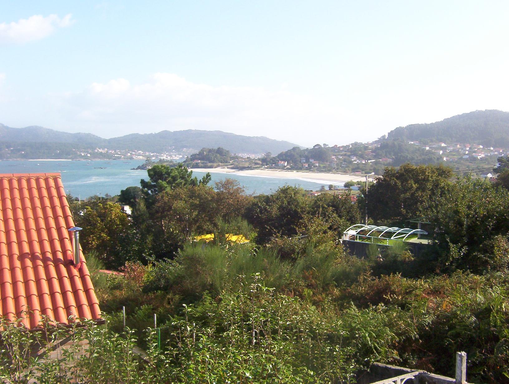 Foto playa Area Brava / Os Alemáns / Alemanes. Vista Playa Area brava