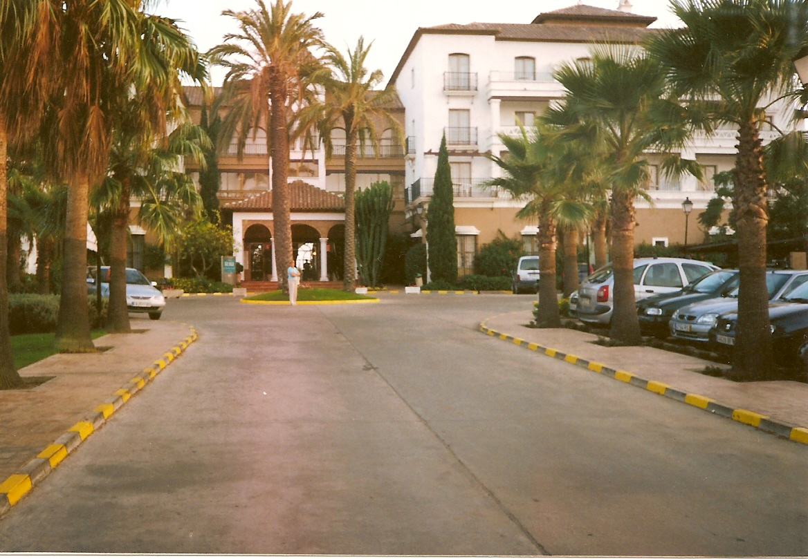 Foto playa Isla Canela. Hotel Riu Canela-Entrada