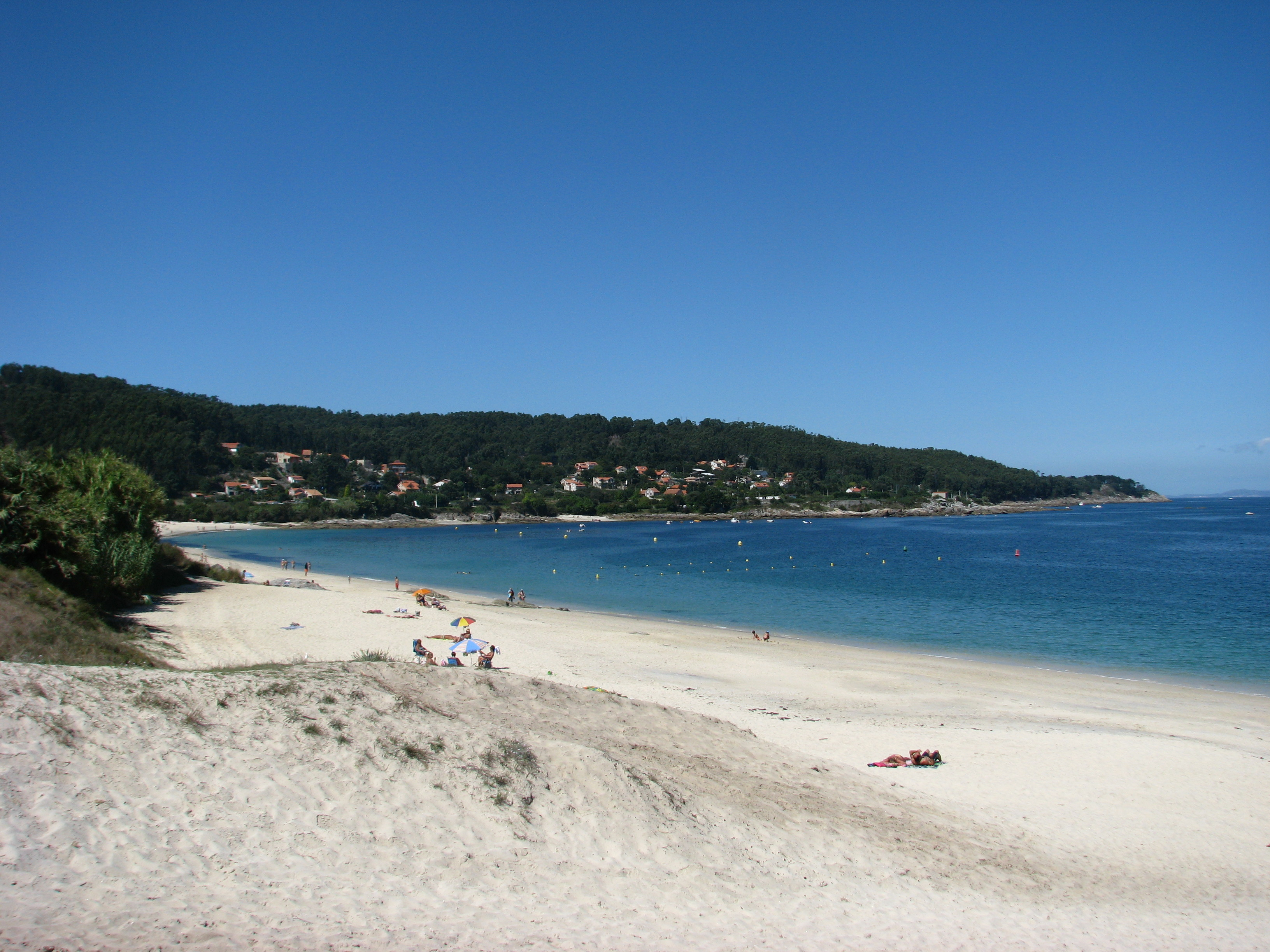 Foto playa Area Brava / Os Alemáns / Alemanes. Area Brava