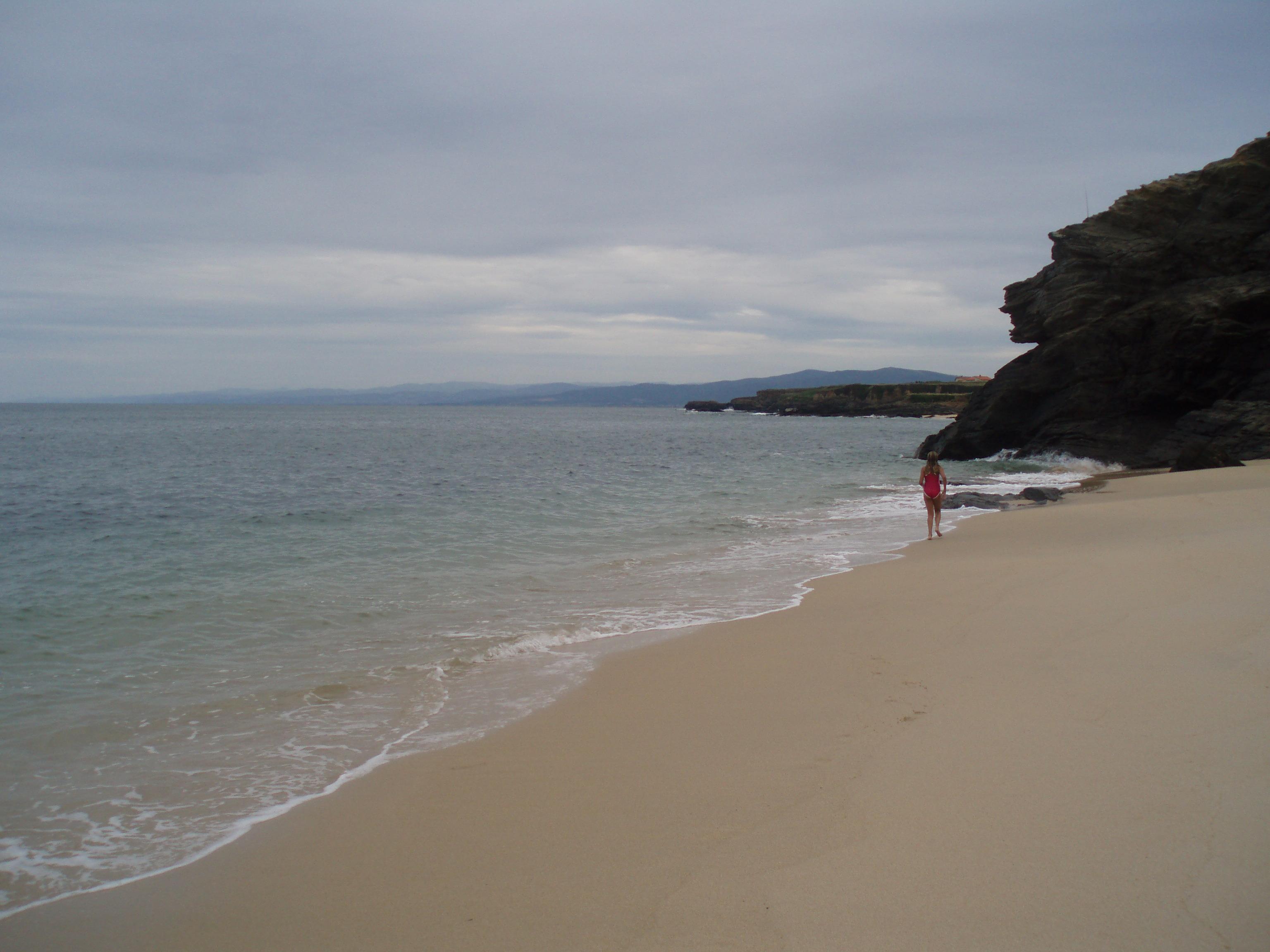 Foto playa Orxal. Praia de